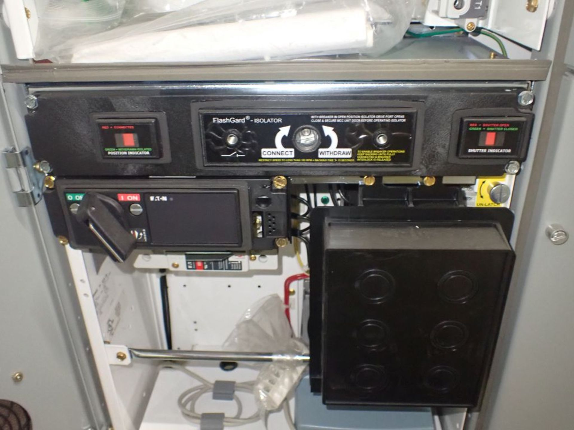 Eaton Freedom 2100 Series Motor Control Center | (2) F206-7A-10HP; (3) F206-15A-10HP; (1) FDRB-100A; - Image 24 of 87