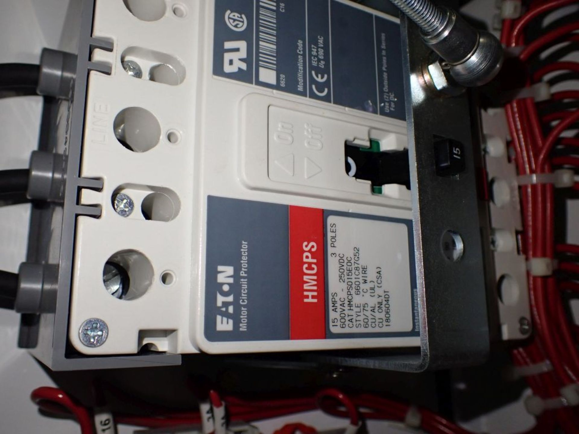 Eaton Freedom 2100 Series Motor Control Center | (11) F206-30A-10HP; (5) F206-15A-10HP; (1) SVX900- - Image 64 of 102