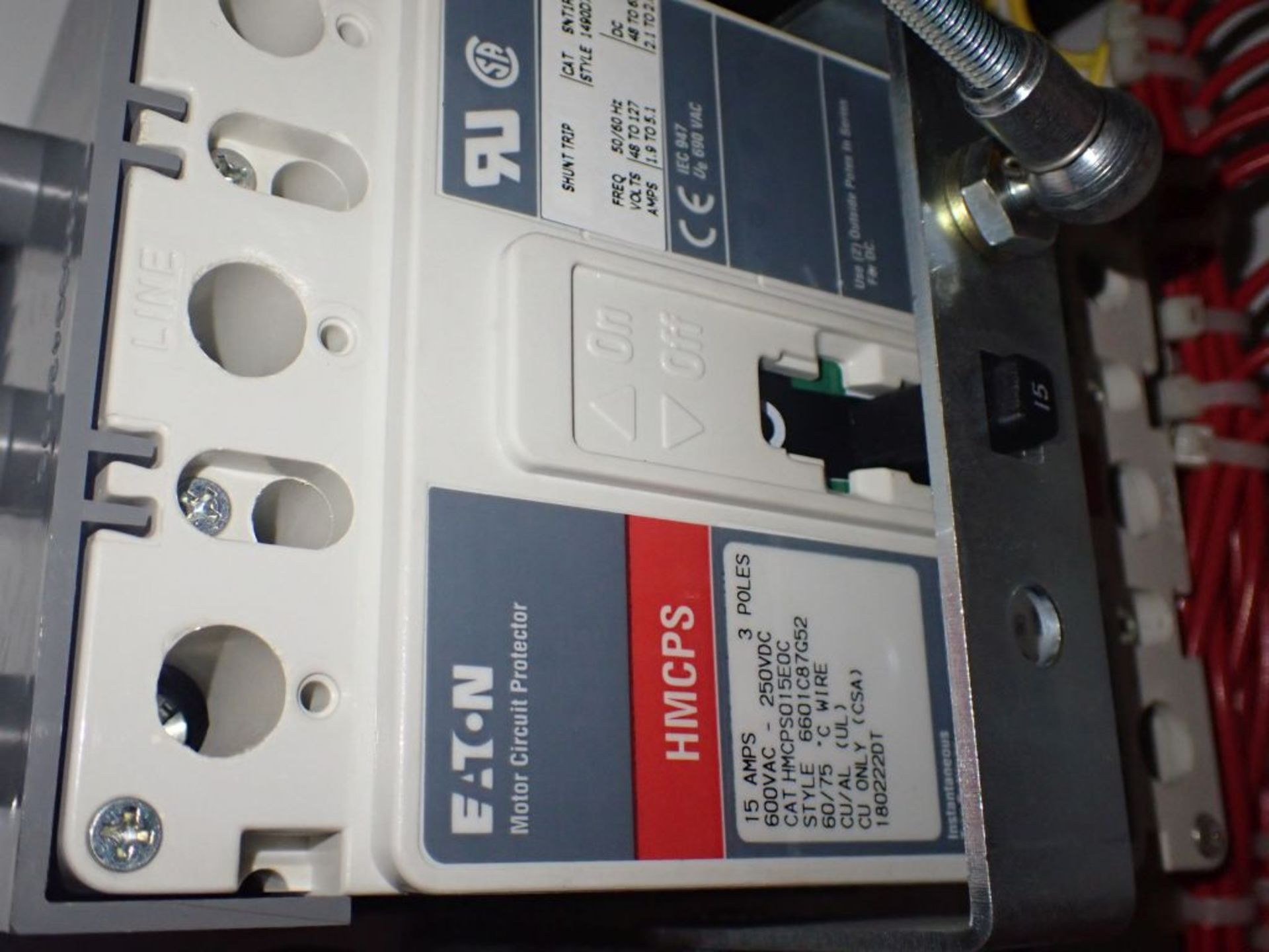 Eaton Freedom Flashgard Motor Control Center w/Components | (5) F206-15A-10HP; (4) F206-30A-10HP; ( - Image 13 of 84