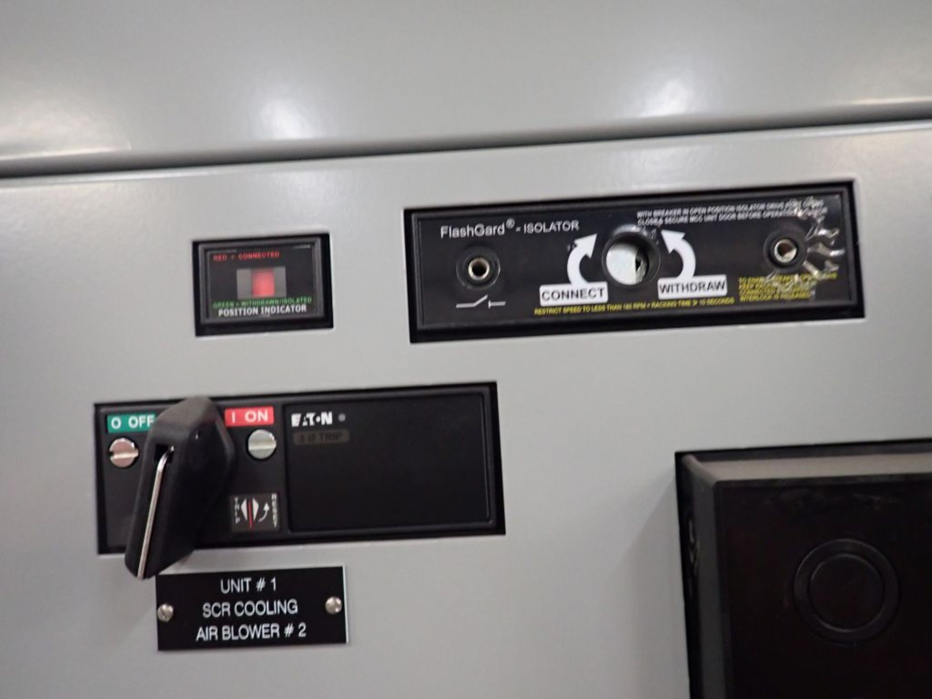 Eaton Freedom 2100 Series Motor Control Center   (2) F206-15A-10HP; (2) SVX900-50A, with Eaton AF - Image 8 of 48