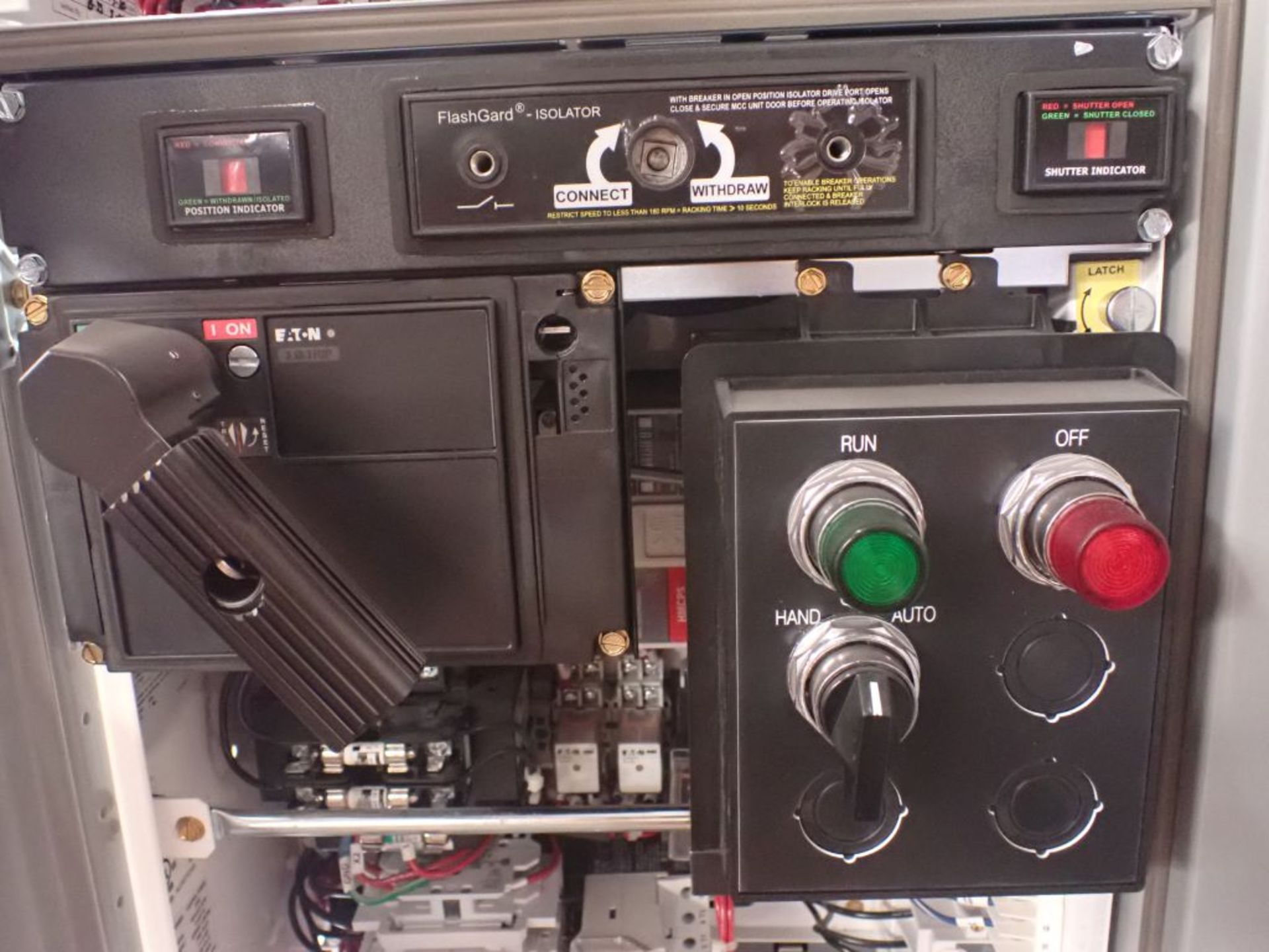 Eaton Freedom 2100 Series Motor Control Center   (2) F206-15A-10HP; (1) F206-30A-10HP; (1) FDRB- - Image 27 of 61