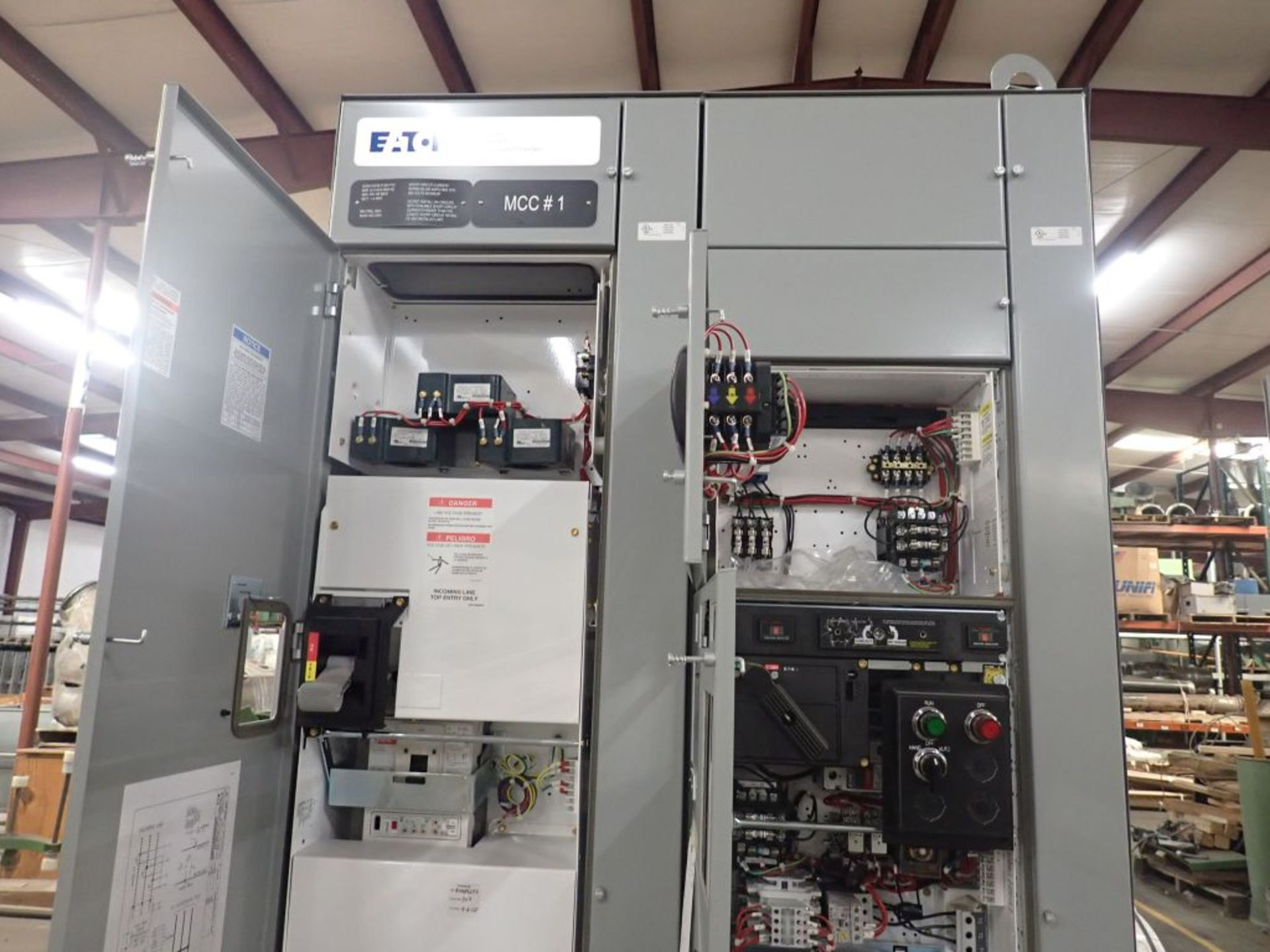Eaton Freedom Flashgard Motor Control Center | SCR0753278, 480V; (1) INCB-250A, with 400A - Image 18 of 69