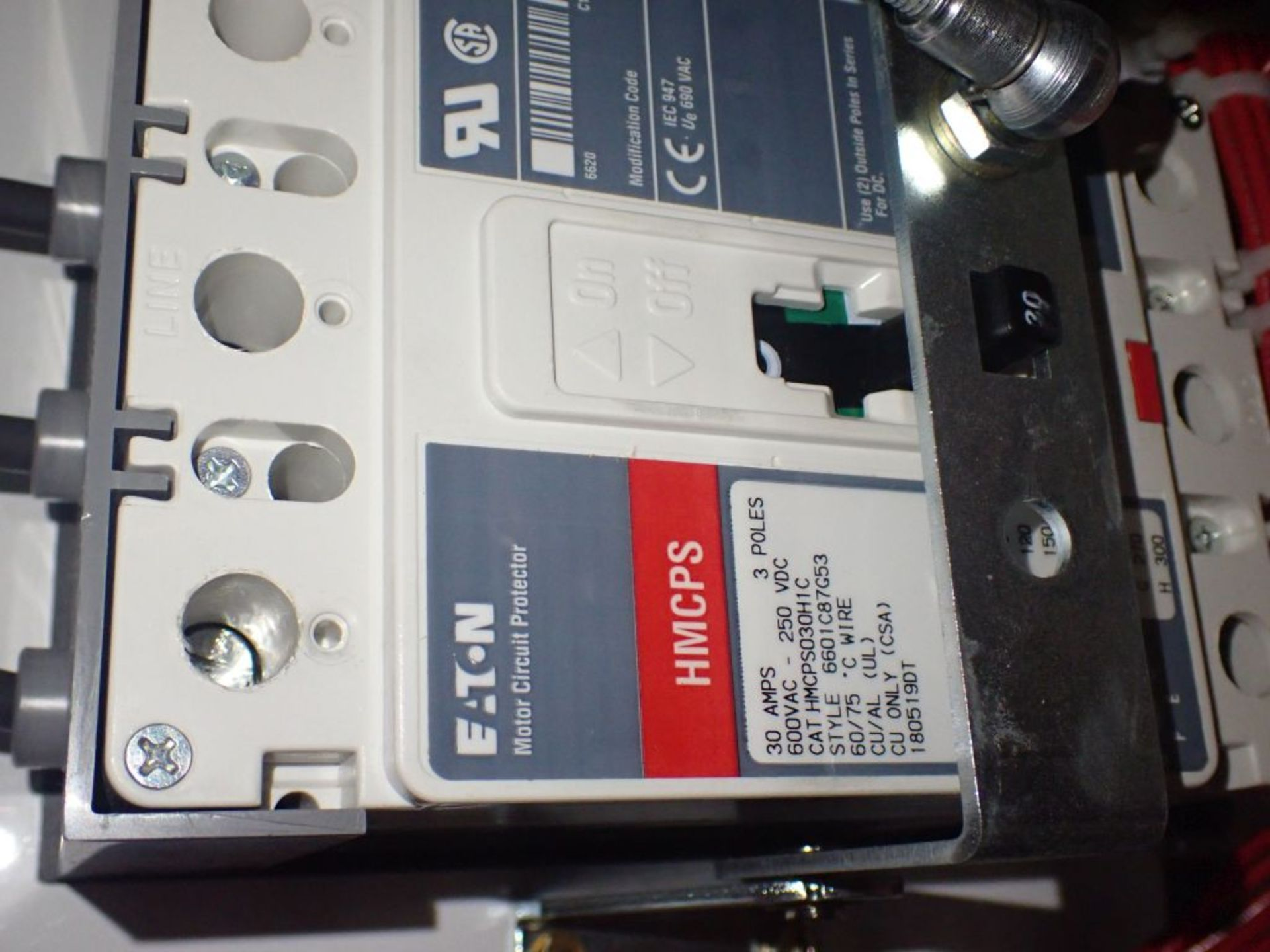 Eaton Freedom 2100 Series Motor Control Center | (2) F206-15A-10HP; (1) FDRB-250A; (1) FDRB-400A; ( - Image 86 of 104