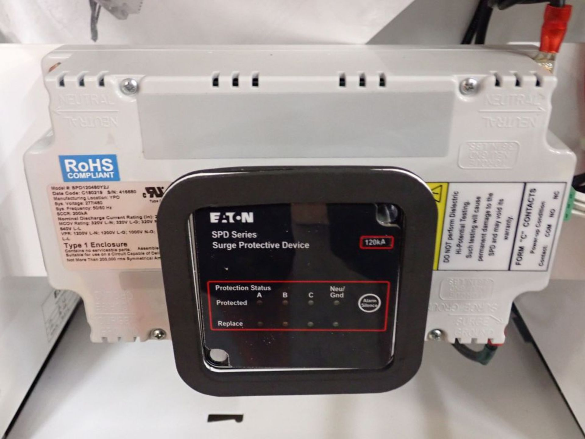 Eaton Freedom Flashgard Motor Control Center | SCR0753278, 480V; (1) INCB-250A, with 400A - Image 34 of 69
