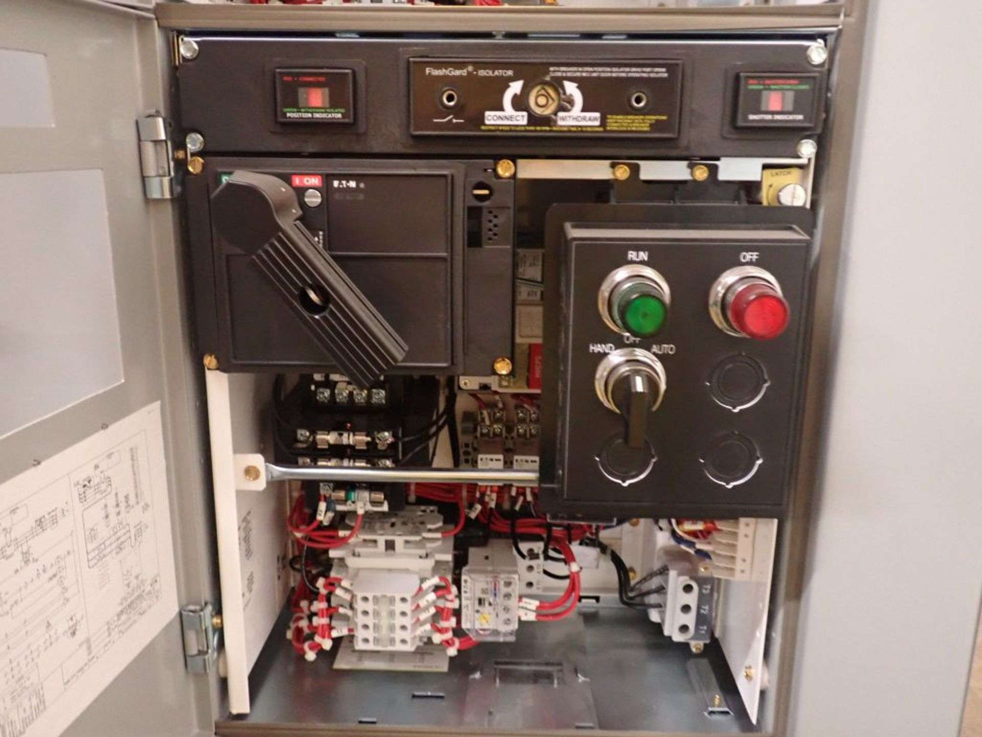 Eaton Freedom Flashgard Motor Control Center w/Components | (5) F206-15A-10HP; (4) F206-30A-10HP; ( - Image 75 of 84