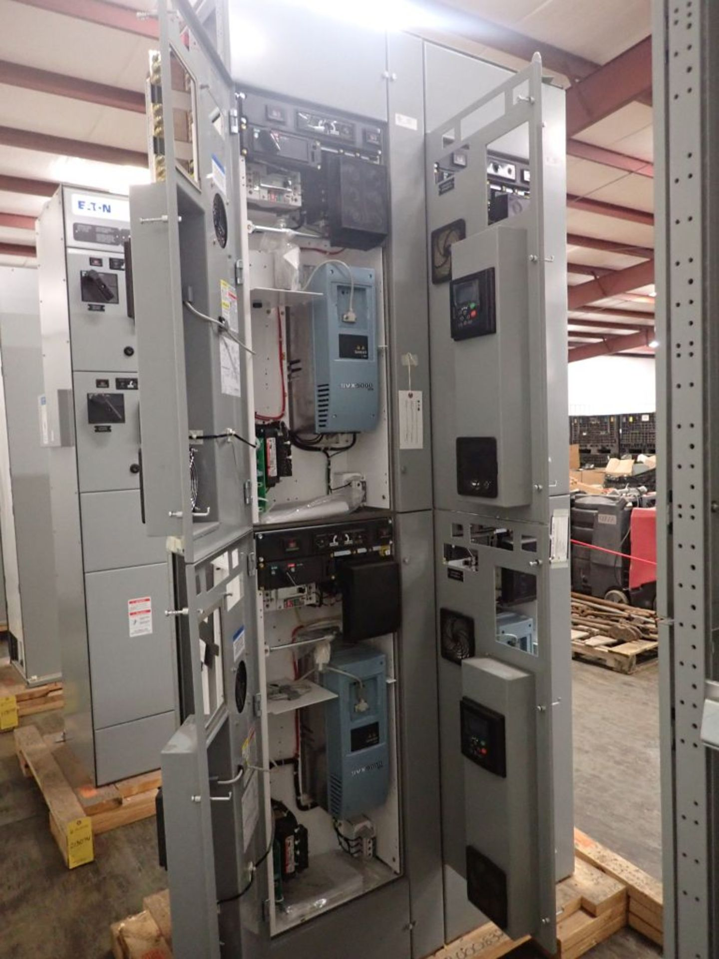Eaton Freedom 2100 Series Motor Control Center | (2) F206-7A-10HP; (3) F206-15A-10HP; (1) FDRB-100A; - Image 8 of 87