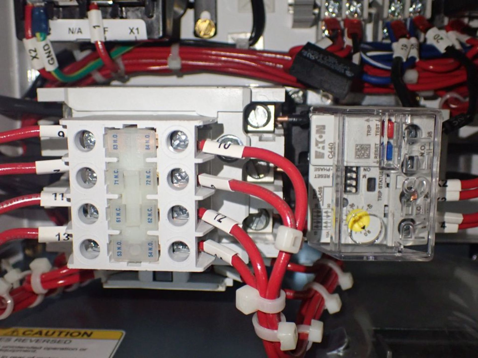 Eaton Freedom 2100 Series Motor Control Center | (2) F206-15A-10HP; (1) FDRB-250A; (1) FDRB-400A; ( - Image 87 of 104