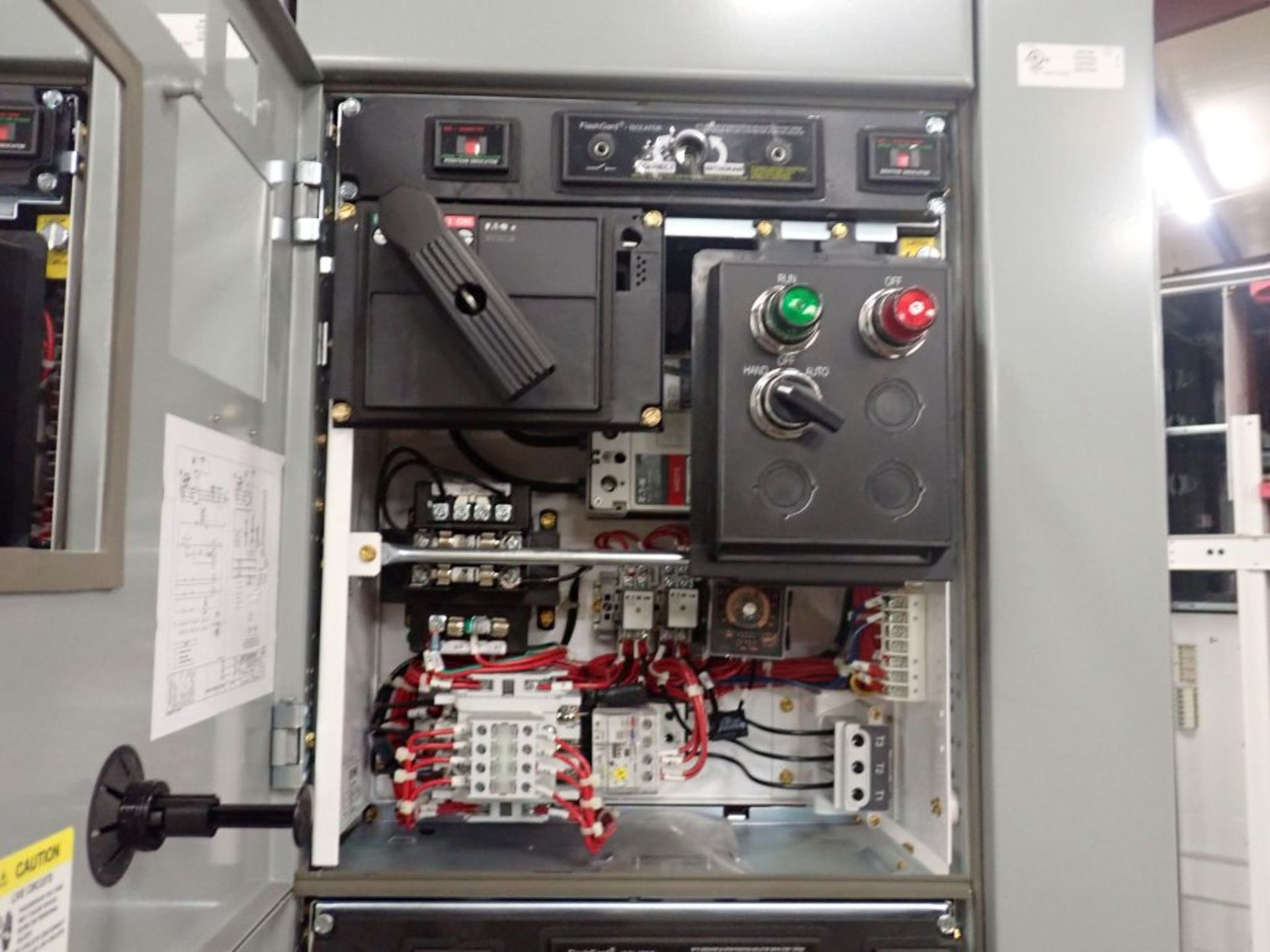 Eaton Freedom 2100 Series Motor Control Center   (2) F206-15A-10HP; (2) SVX900-50A, with Eaton AF - Image 30 of 48