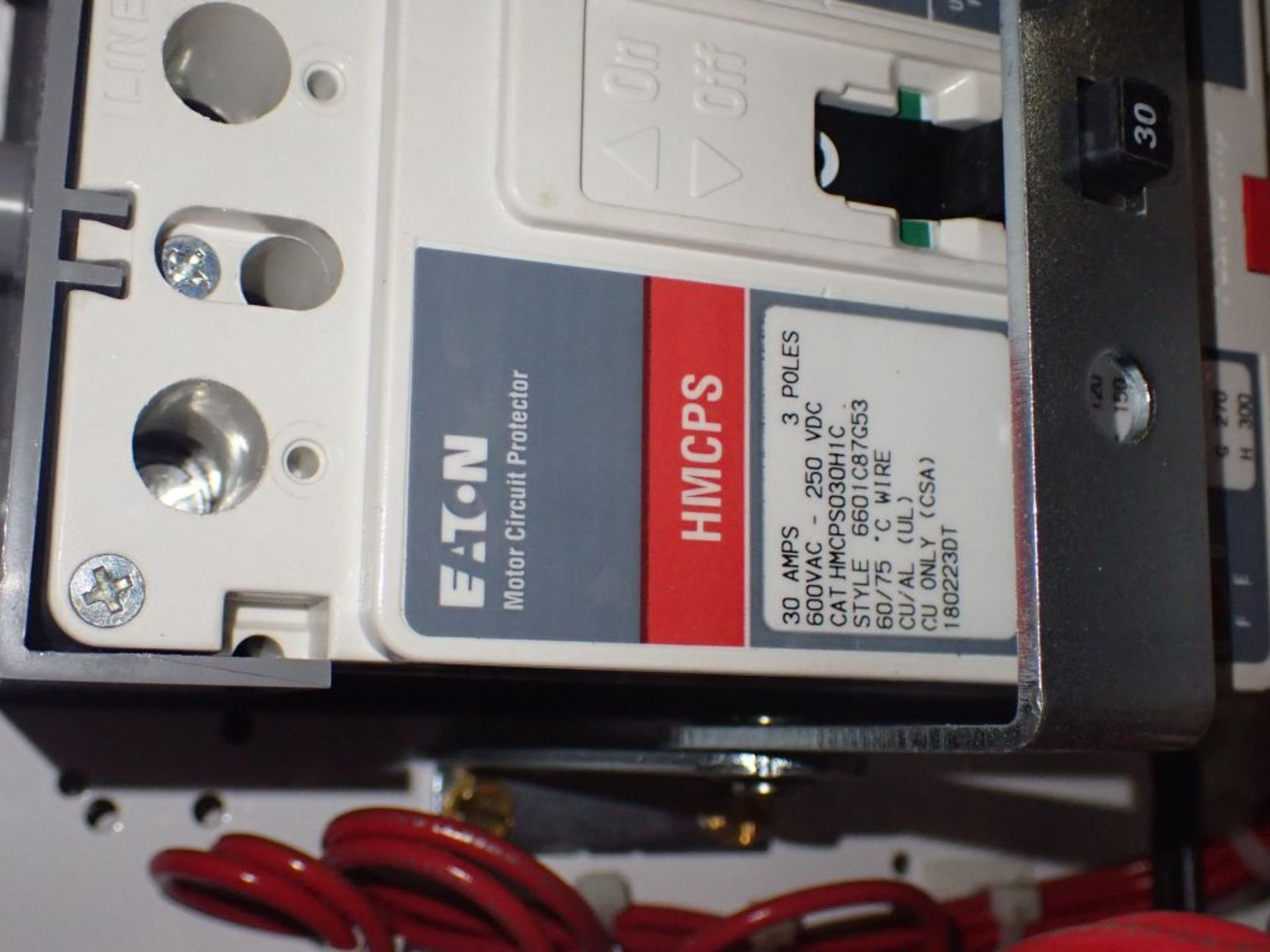 Eaton Freedom Flashgard Motor Control Center | SCR0753278, 480V; (1) INCB-250A, with 400A - Image 69 of 69