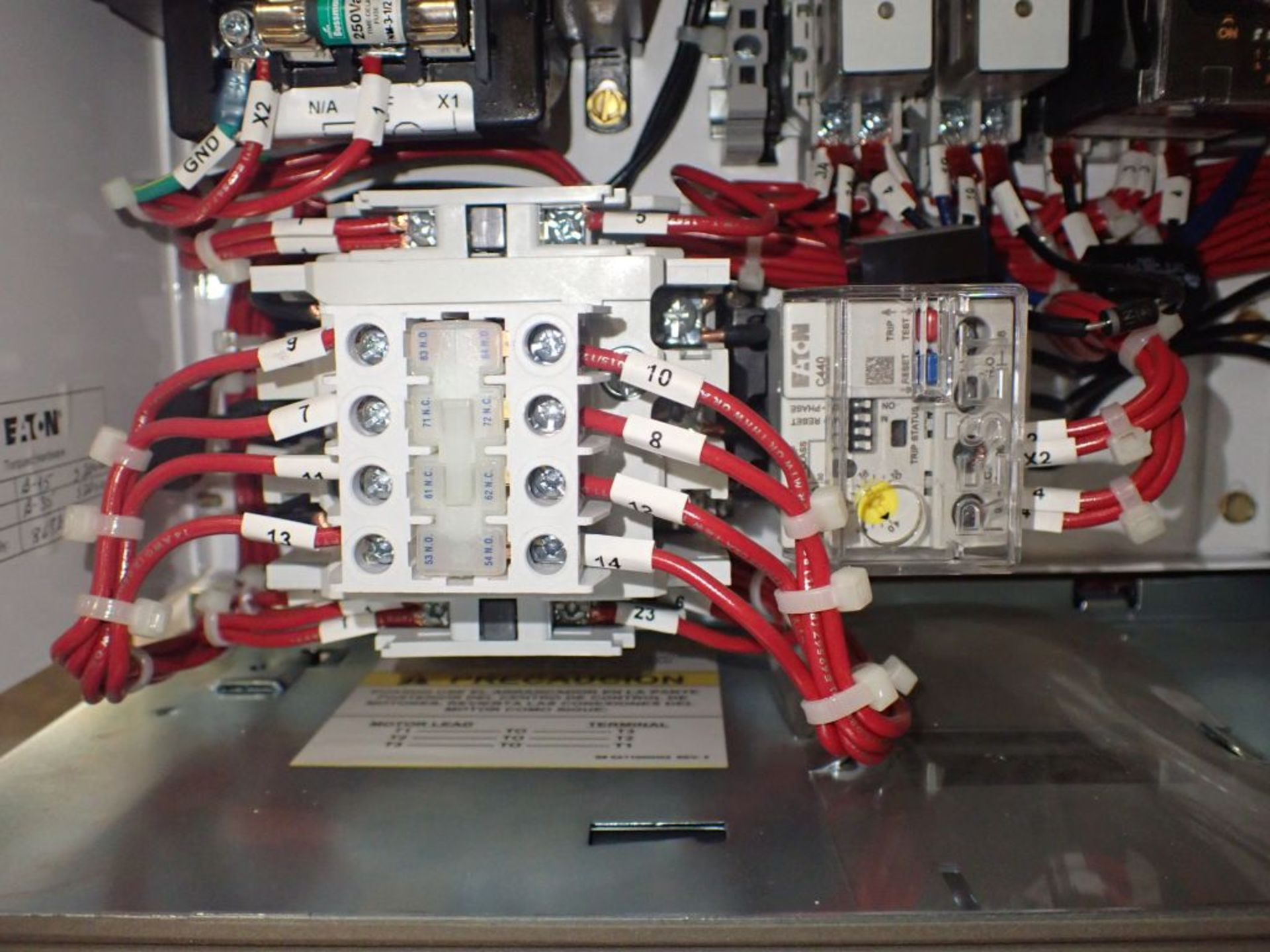 Eaton Freedom Flashgard Motor Control Center w/Components | (5) F206-15A-10HP; (4) F206-30A-10HP; ( - Image 53 of 84