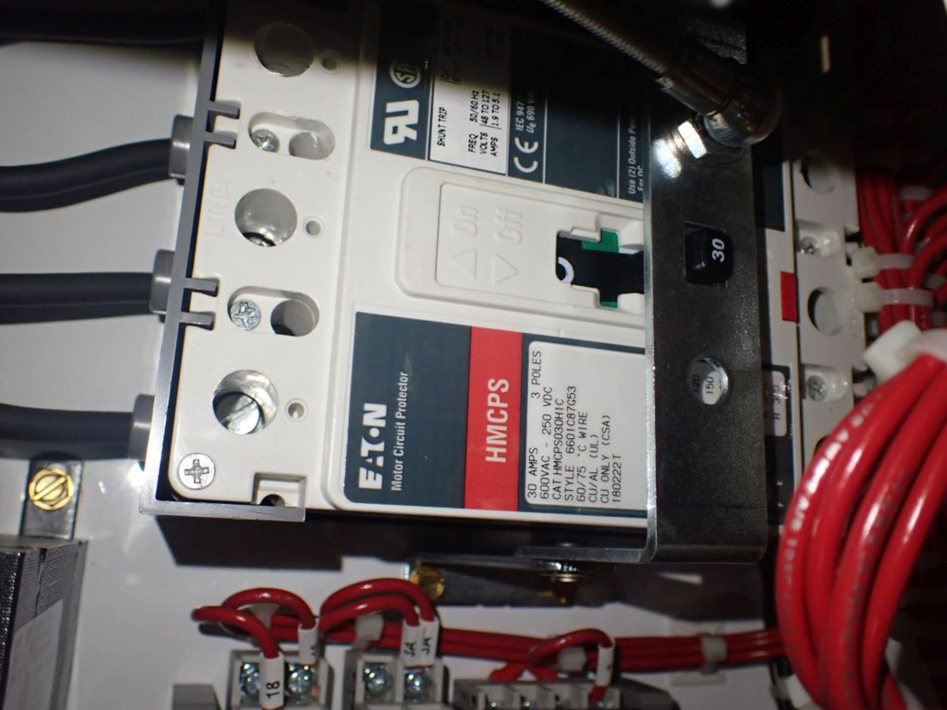 Eaton Freedom Flashgard Motor Control Center w/Components | (5) F206-15A-10HP; (4) F206-30A-10HP; ( - Image 43 of 84