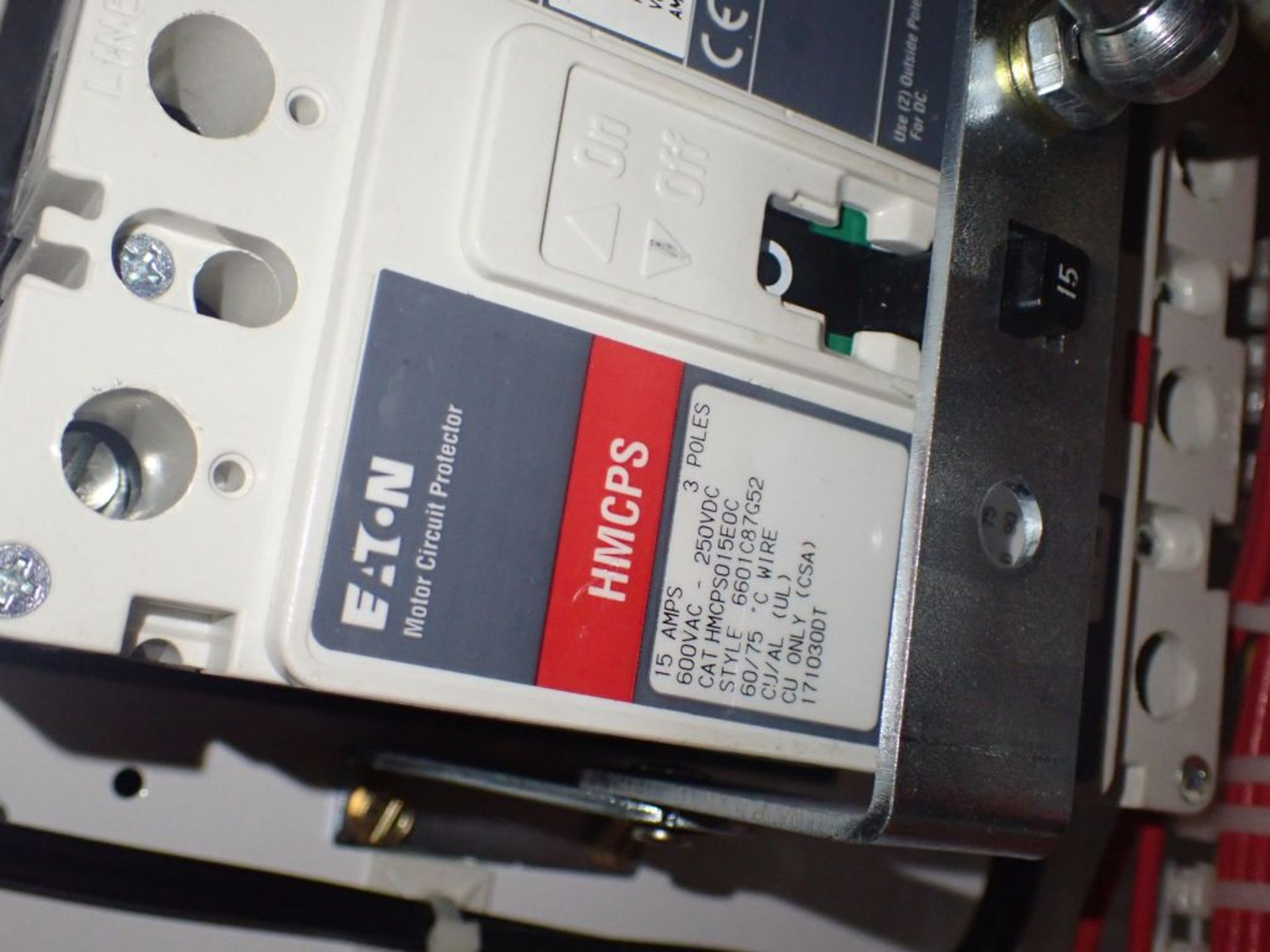 Eaton Freedom Flashgard Motor Control Center   (3) F216-15A-10HP; (1) FDRB-125A, with 150A - Image 18 of 57