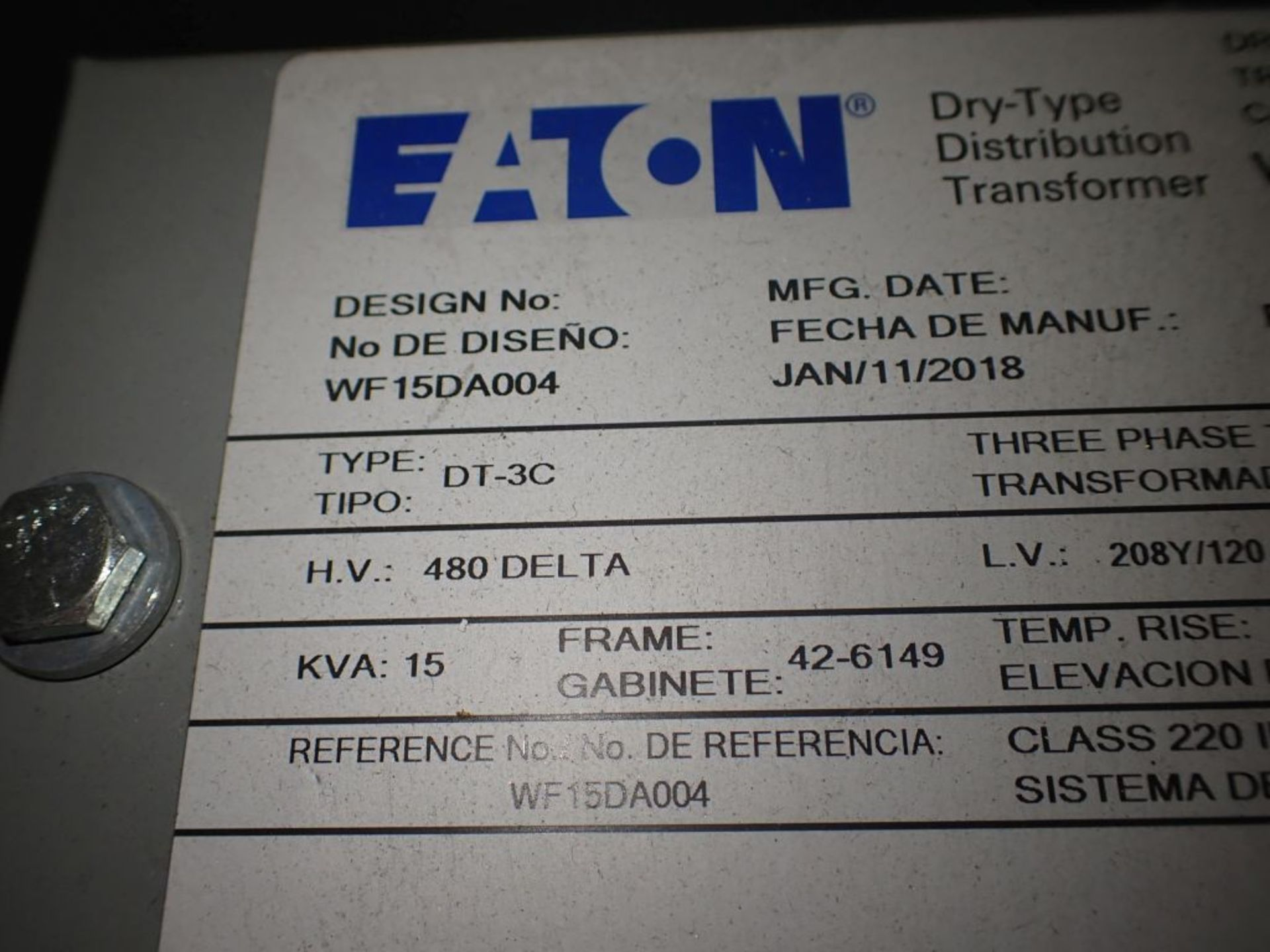 Eaton Freedom 2100 Series Motor Control Center | (2) F208-30A; (1) F208-40A; (1) FDRB-50A; (2) - Image 24 of 37