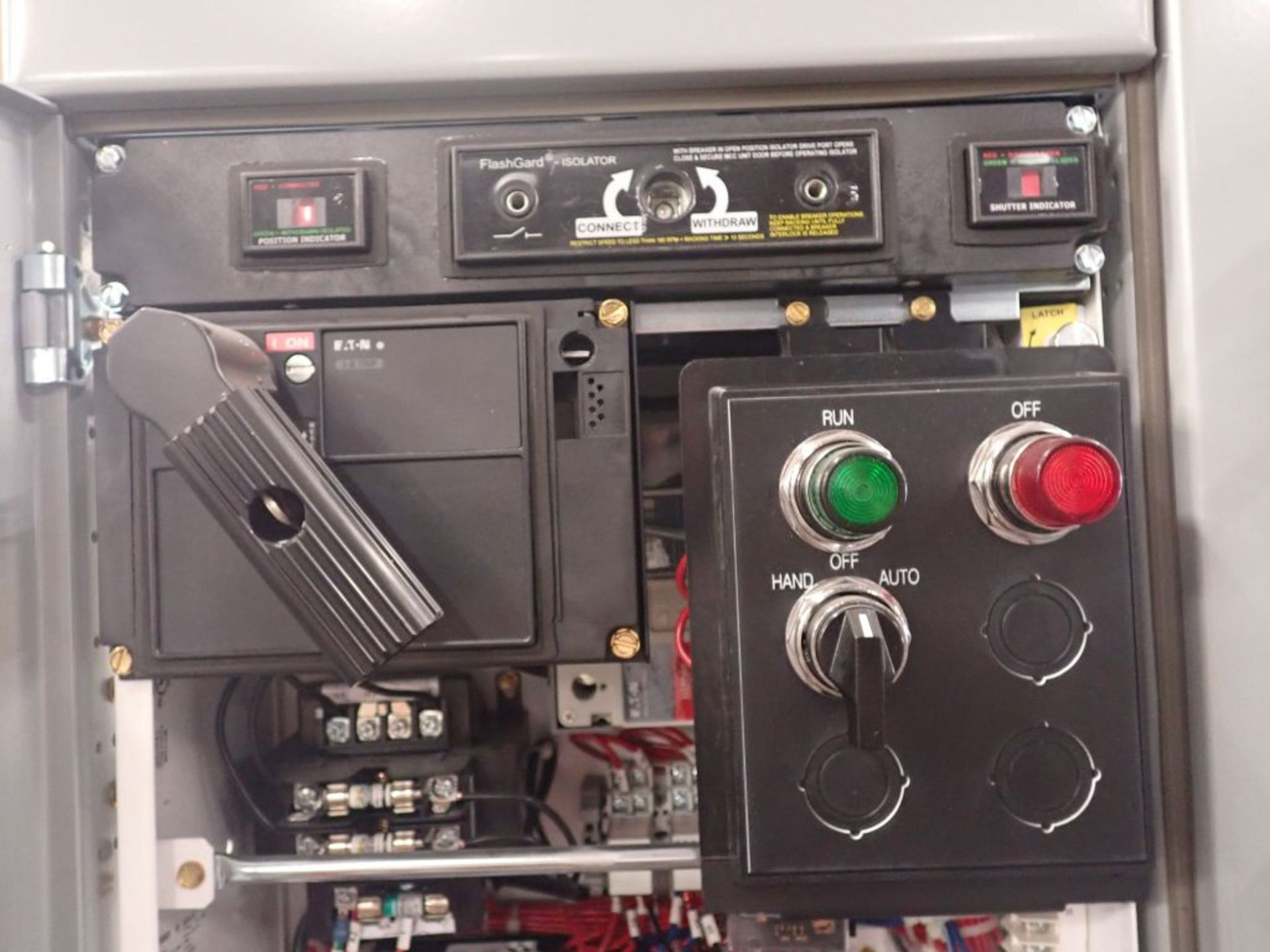 Eaton Freedom 2100 Series Motor Control Center   (2) F206-15A-10HP; (1) F206-30A-10HP; (1) FDRB- - Image 20 of 61