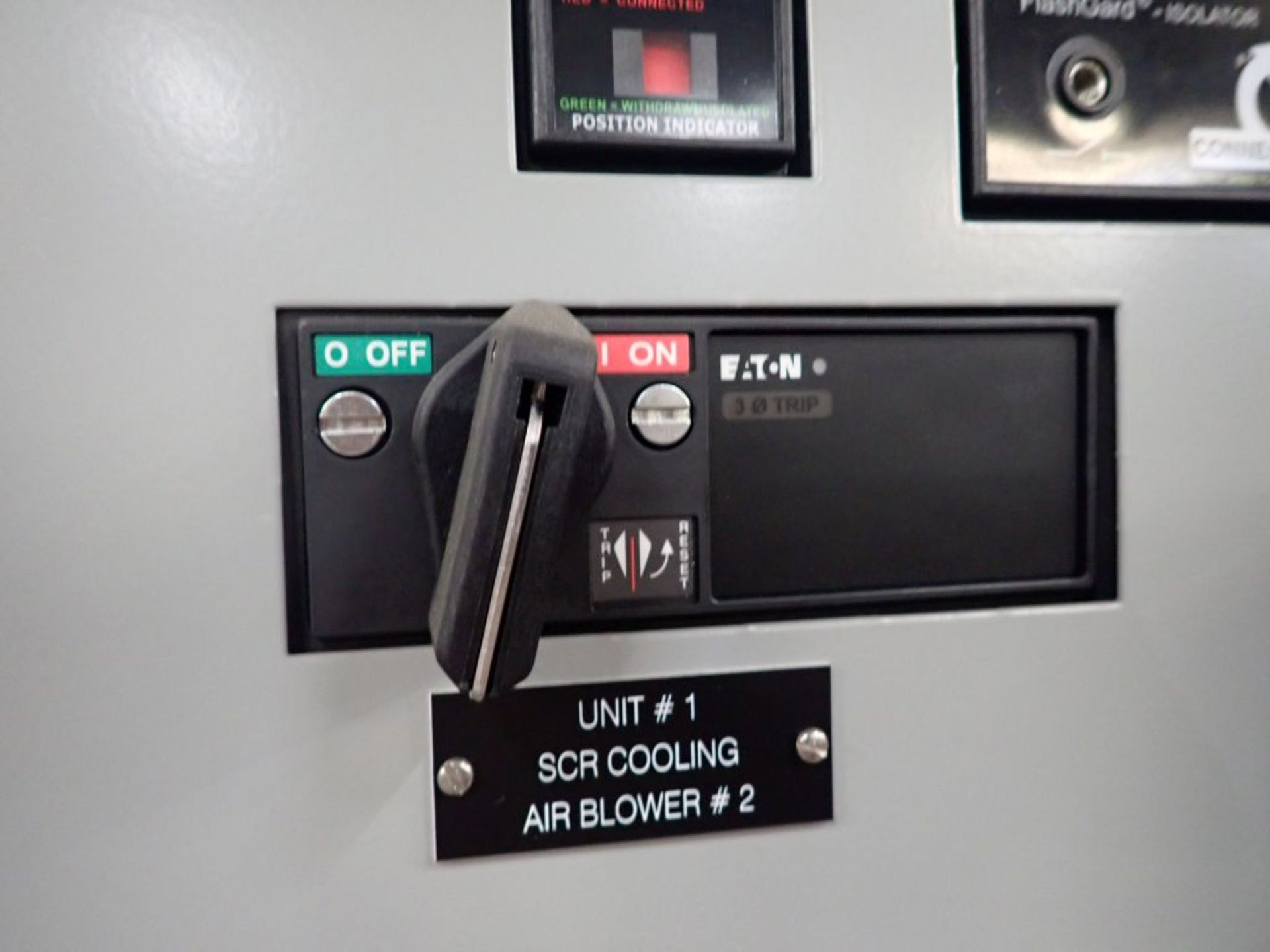 Eaton Freedom 2100 Series Motor Control Center   (2) F206-15A-10HP; (2) SVX900-50A, with Eaton AF - Image 9 of 48