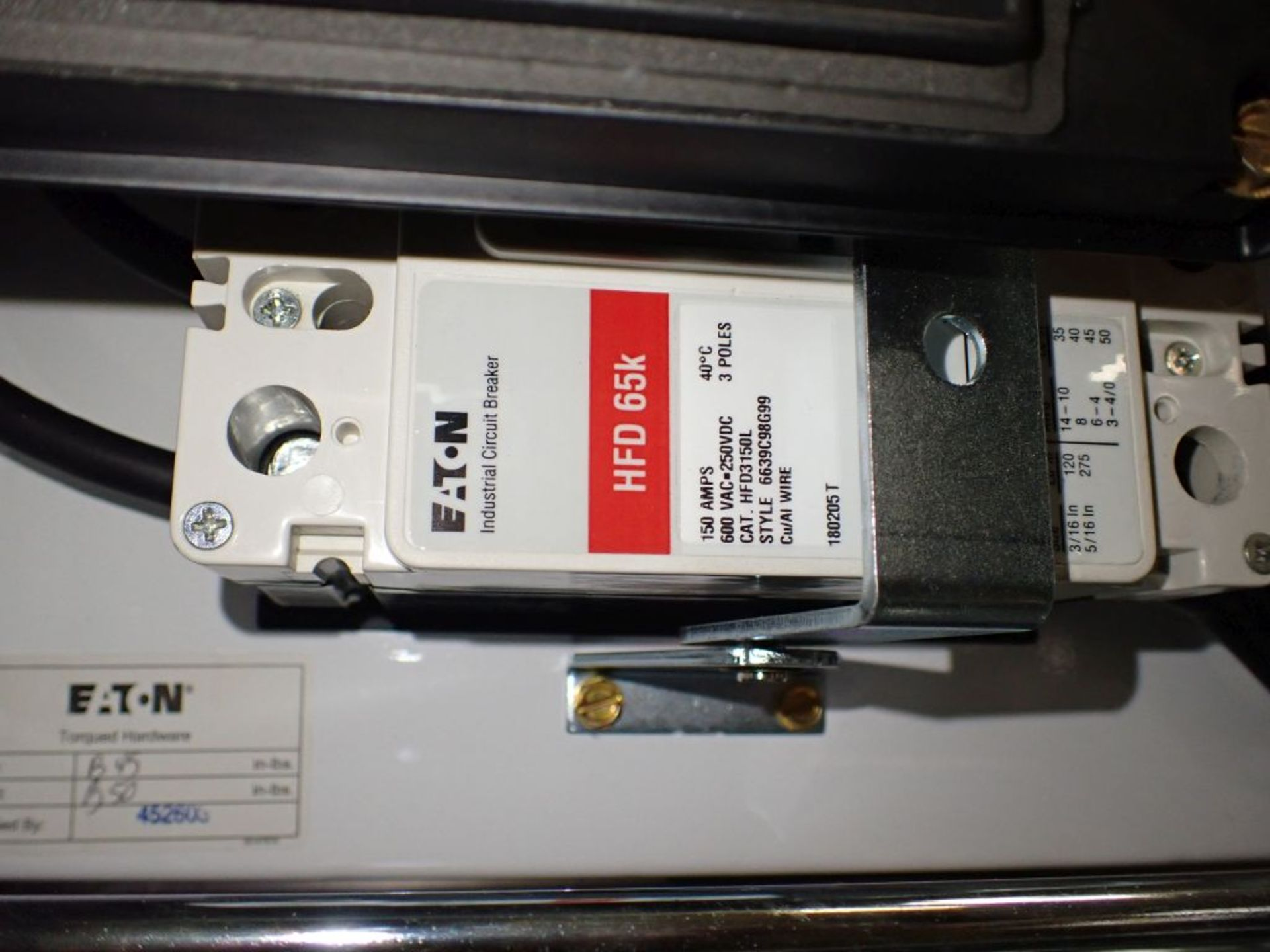 Eaton Freedom Flashgard Motor Control Center   (3) F216-15A-10HP; (1) FDRB-125A, with 150A - Image 50 of 57