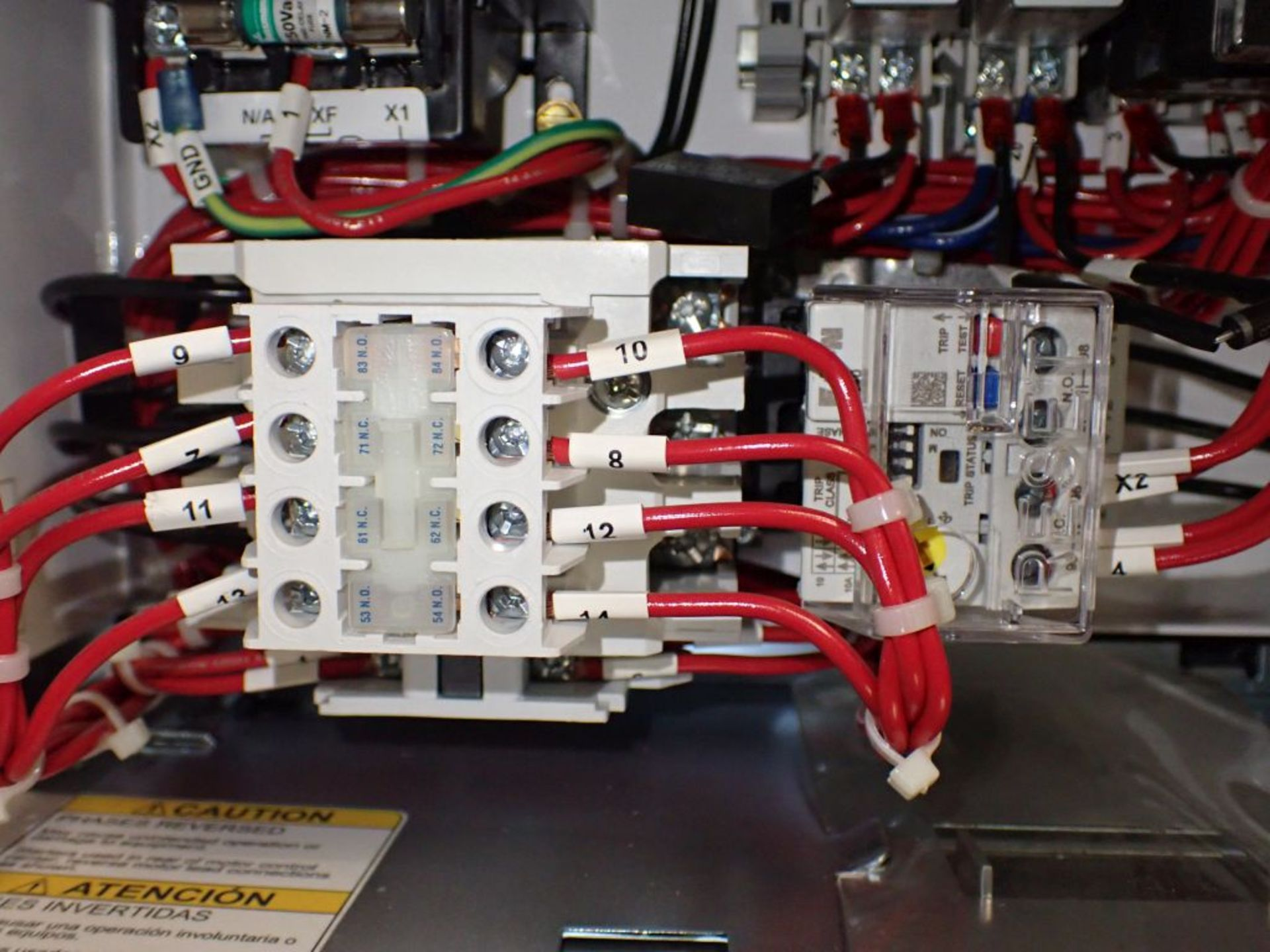Eaton Freedom 2100 Series Motor Control Center | (11) F206-30A-10HP; (5) F206-15A-10HP; (1) SVX900- - Image 28 of 102