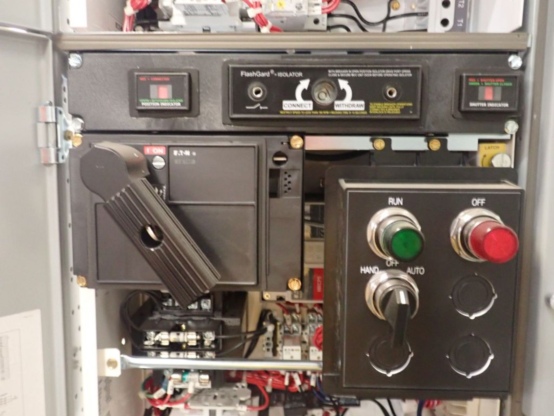 Eaton Freedom Flashgard Motor Control Center w/Components | (5) F206-15A-10HP; (4) F206-30A-10HP; ( - Image 57 of 84