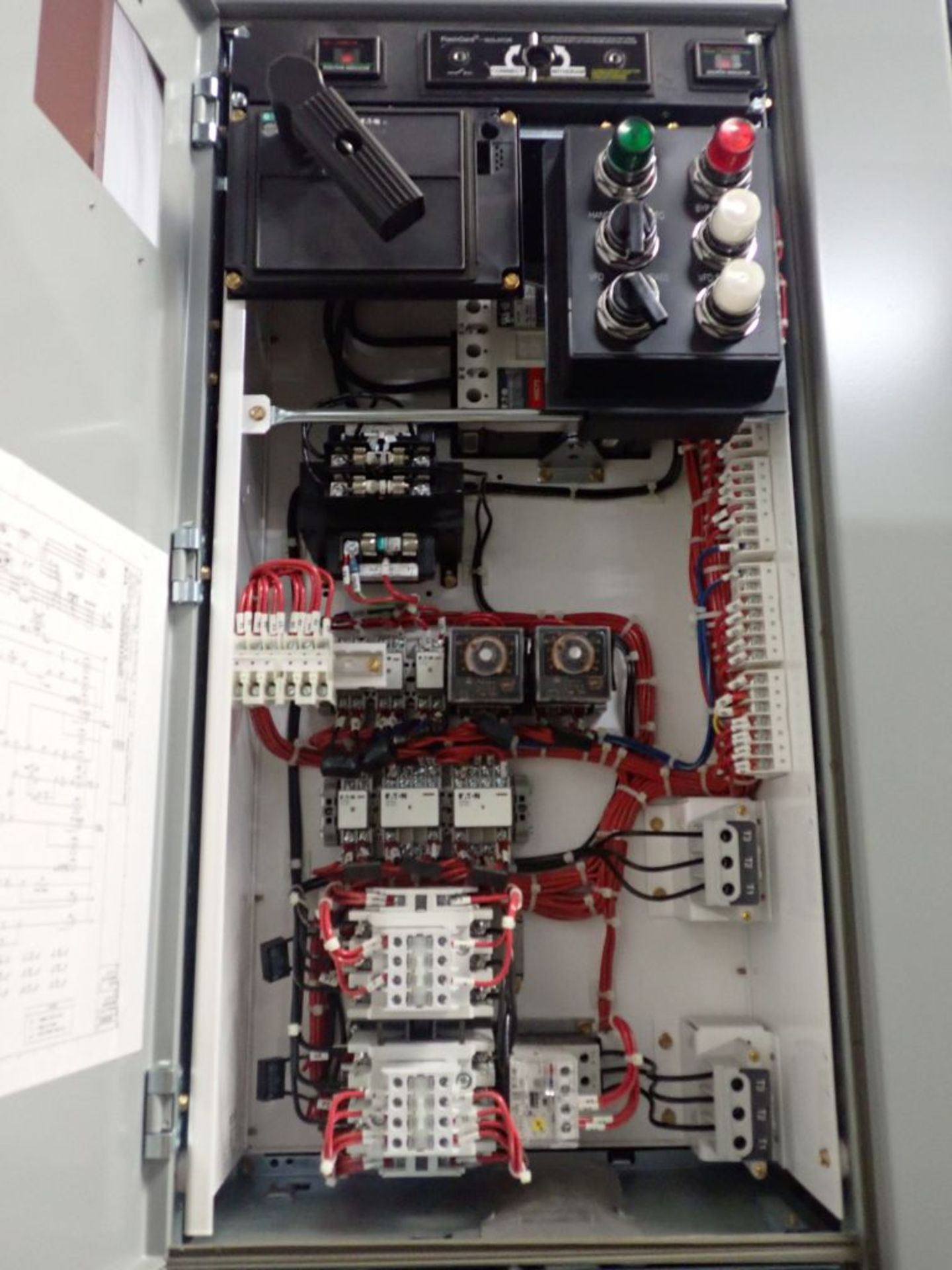 Eaton Freedom Flashgard Motor Control Center   (3) F216-15A-10HP; (1) FDRB-125A, with 150A - Image 7 of 57