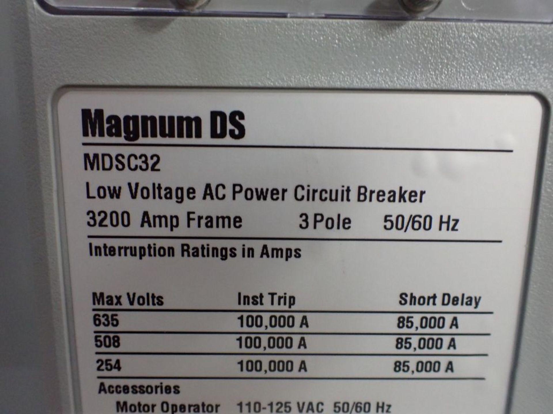 Eaton Transfer Switch | Cat No. ATV9MGB32500XSU; 480V; 3 PH; 2500A; (2) Eaton Magnum DS Circuit - Image 17 of 50