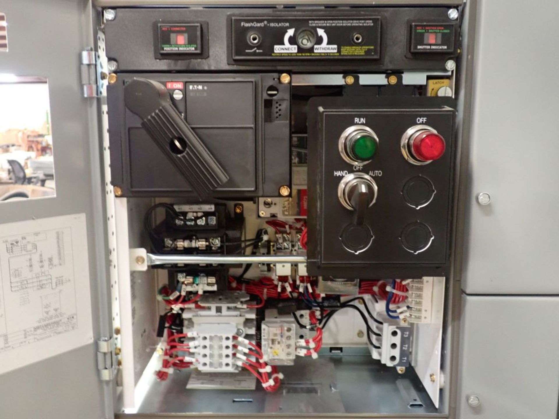 Eaton Freedom Flashgard Motor Control Center w/Components | (5) F206-15A-10HP; (4) F206-30A-10HP; ( - Image 51 of 84