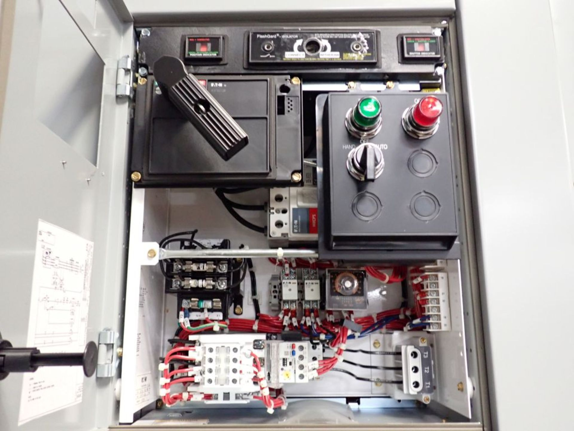 Eaton Freedom 2100 Series Motor Control Center | (11) F206-30A-10HP; (5) F206-15A-10HP; (1) SVX900- - Image 37 of 102