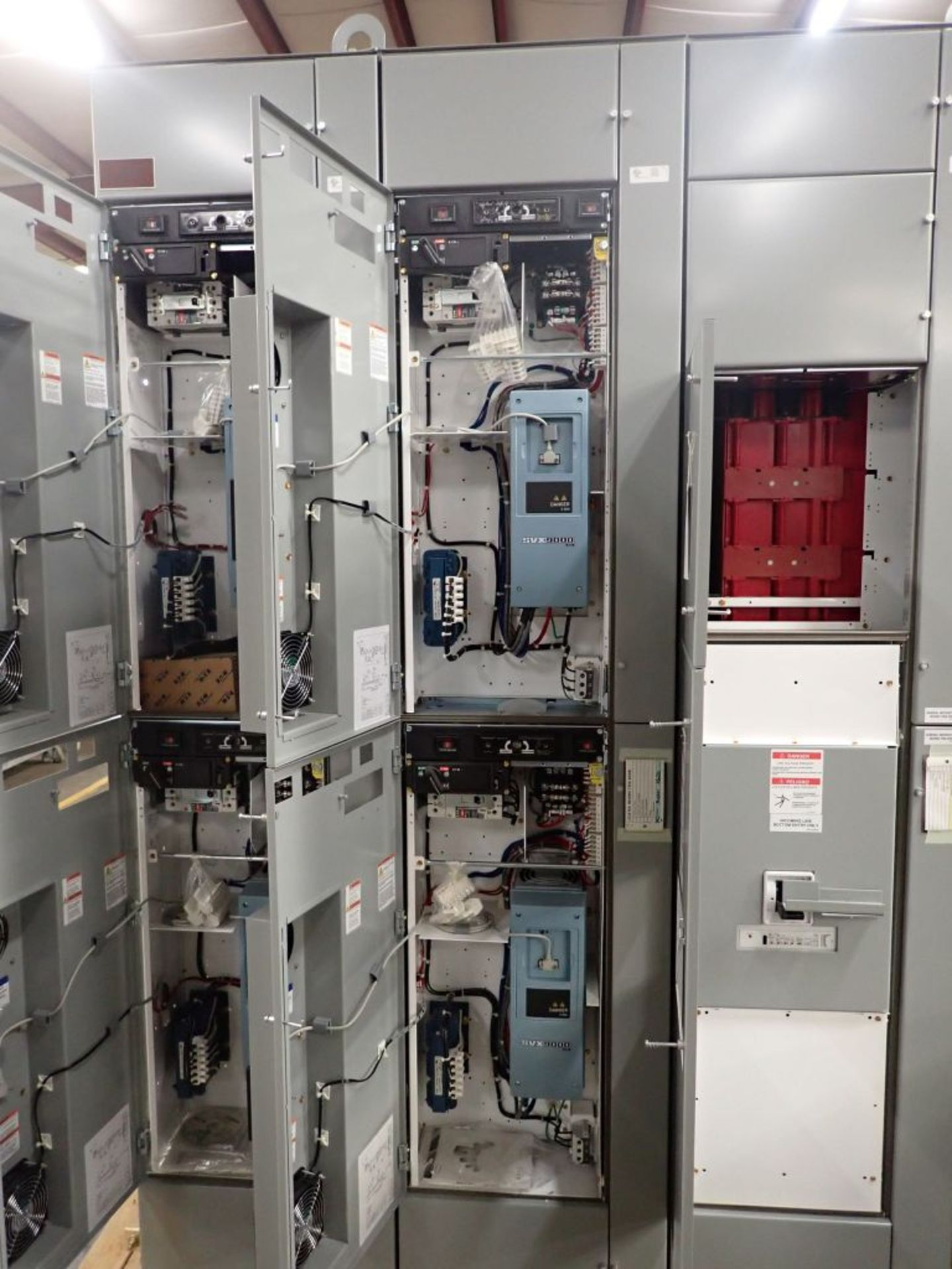 Eaton Freedom 2100 Series Motor Control Center   (4) SVX900-30A, with Eaton AF Drives, SVX9000, - Image 19 of 60