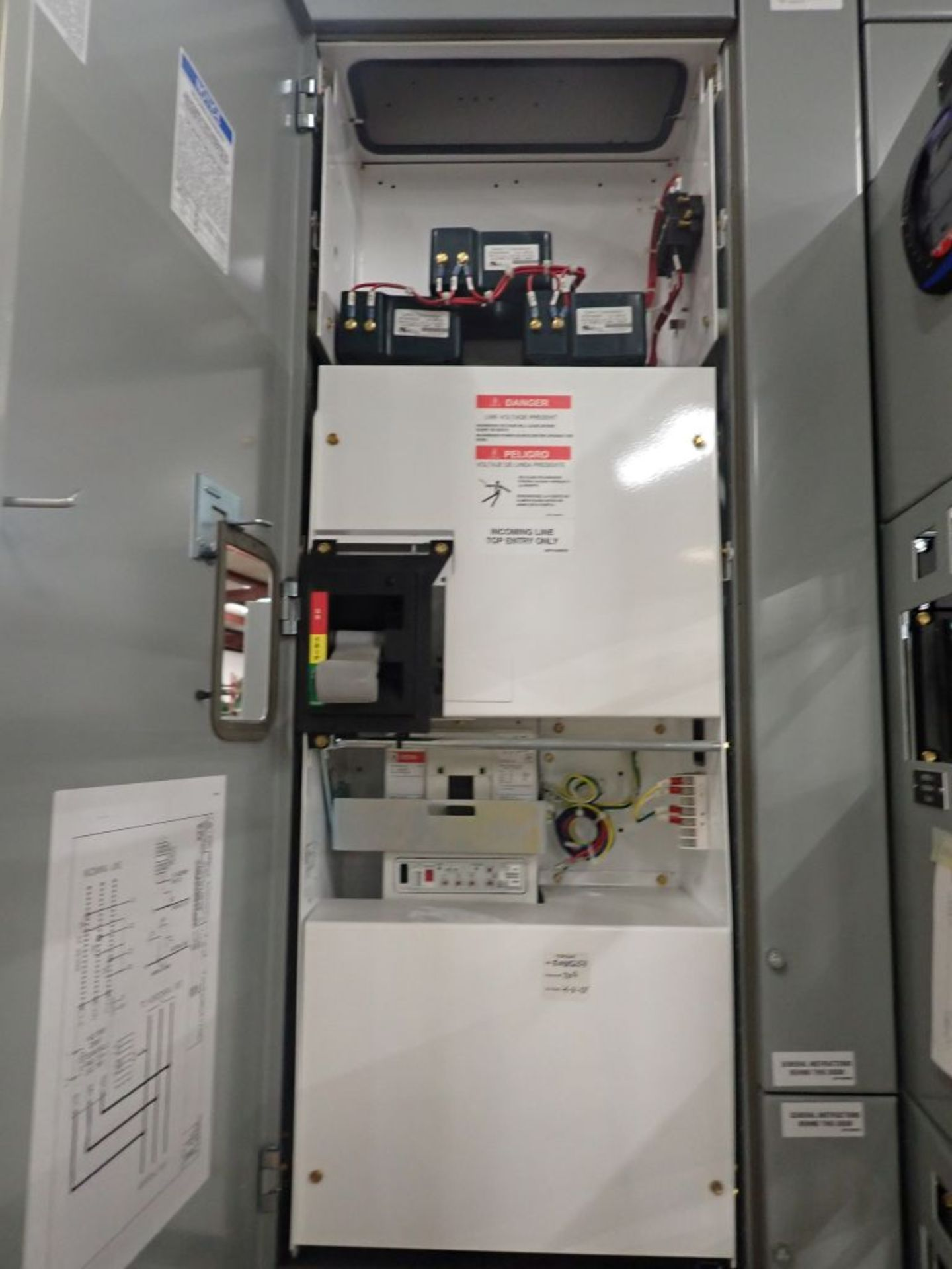 Eaton Freedom Flashgard Motor Control Center | SCR0753278, 480V; (1) INCB-250A, with 400A - Image 17 of 69