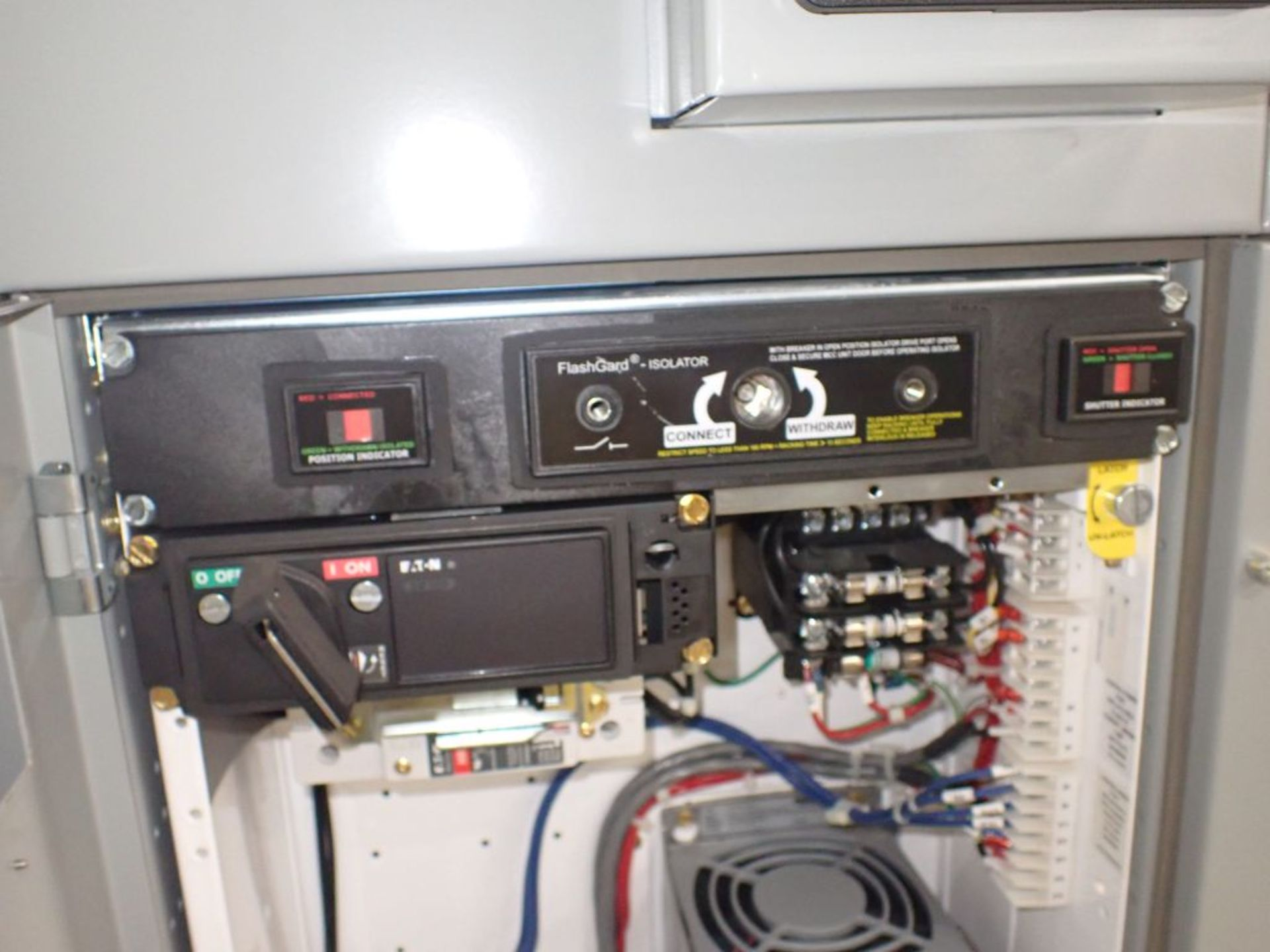Eaton Freedom 2100 Series Motor Control Center | (2) F206-15A-10HP; (1) FDRB-250A; (1) FDRB-400A; ( - Image 43 of 104