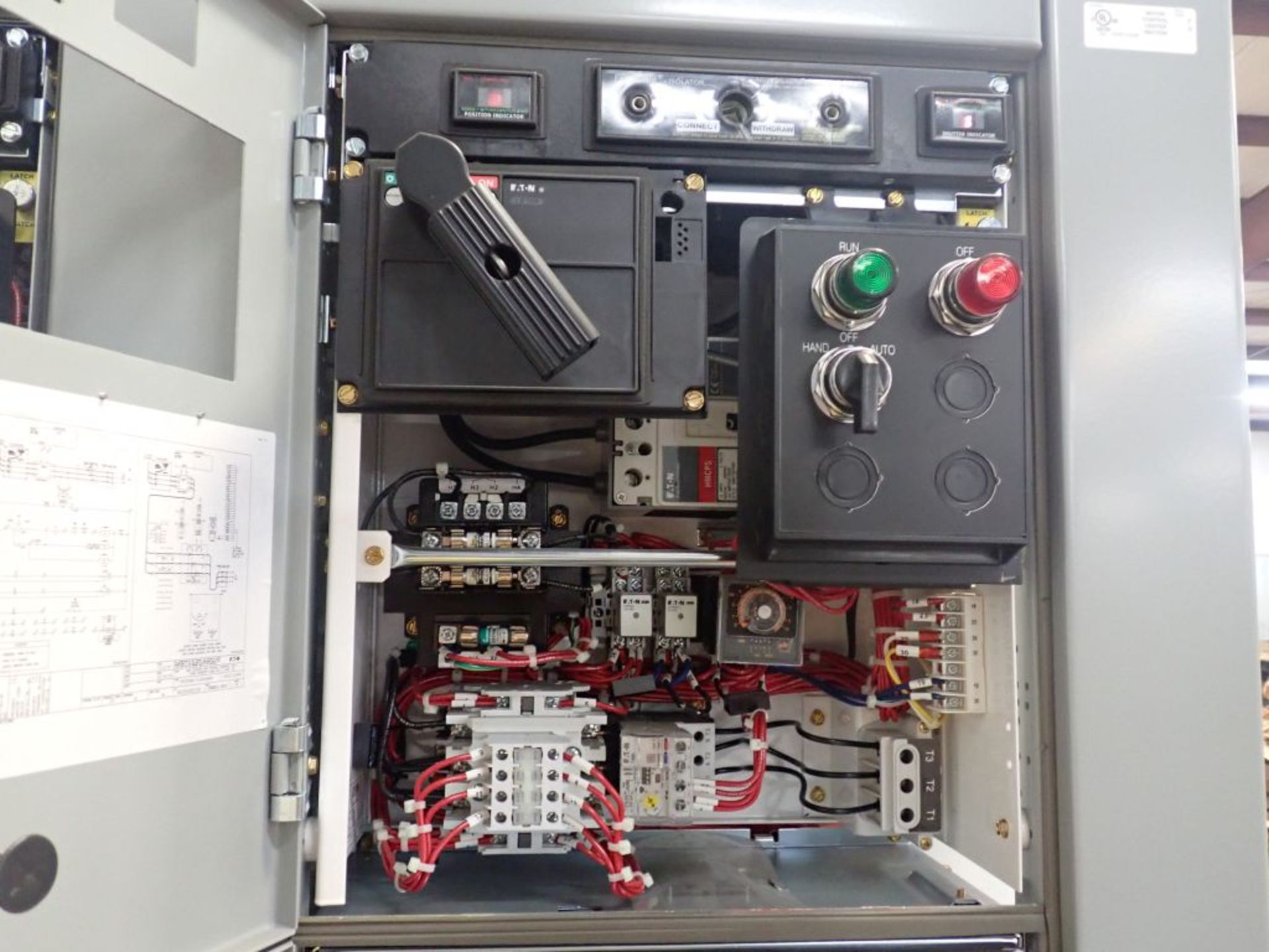 Eaton Freedom Flashgard Motor Control Center w/Components | (5) F206-15A-10HP; (4) F206-30A-10HP; ( - Image 21 of 84