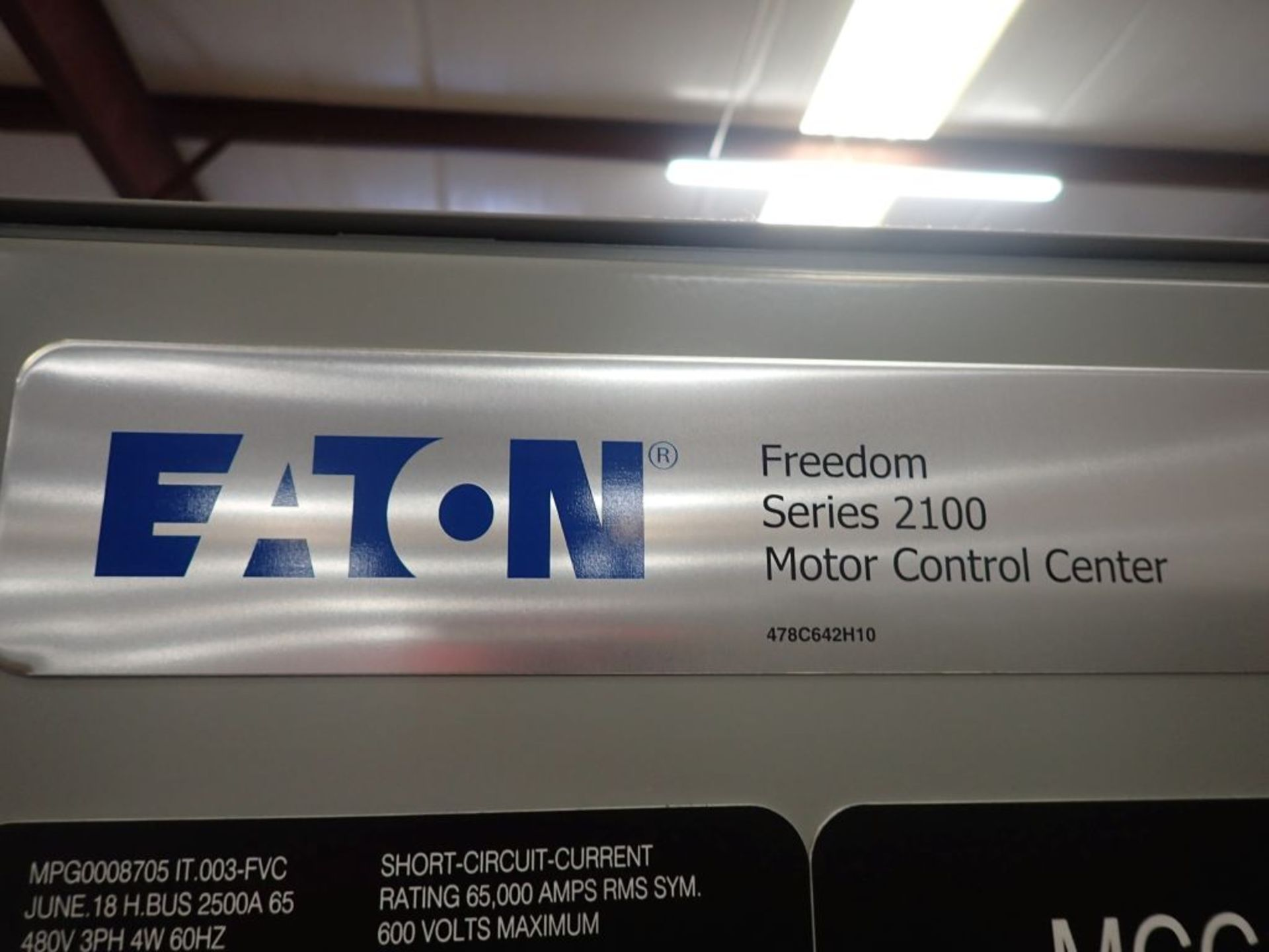 Eaton Freedom Series 2100 Motor Control Center   Never Installed; Includes:; (1) F206-30A; (1) - Image 19 of 64