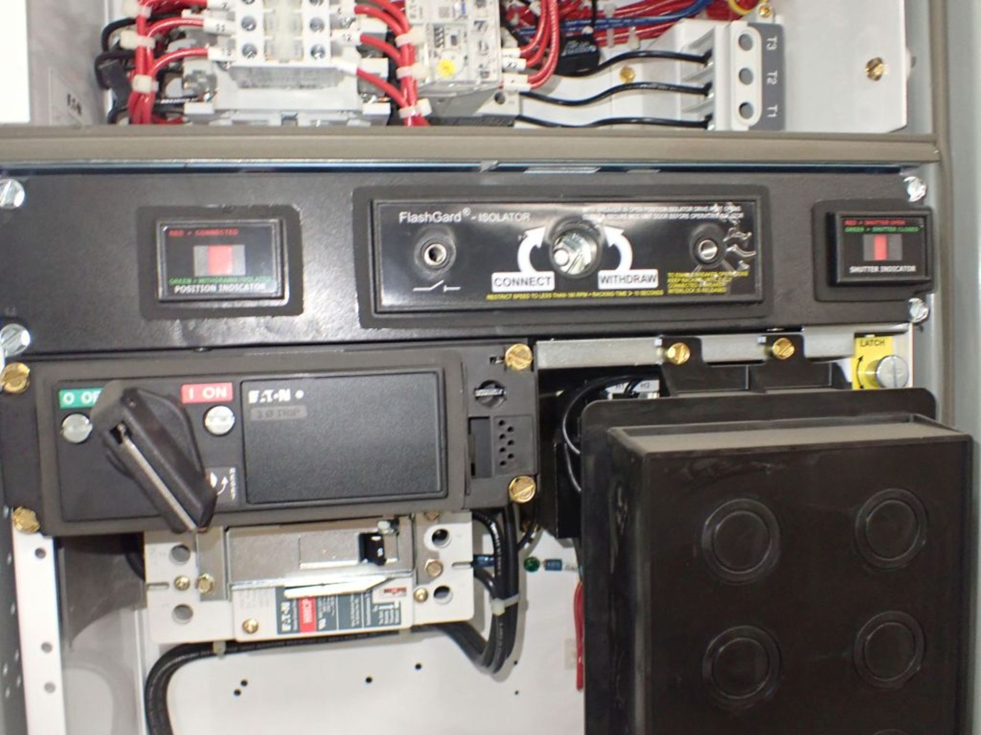 Eaton Freedom 2100 Series Motor Control Center   (2) F206-15A-10HP; (2) SVX900-50A, with Eaton AF - Image 45 of 48