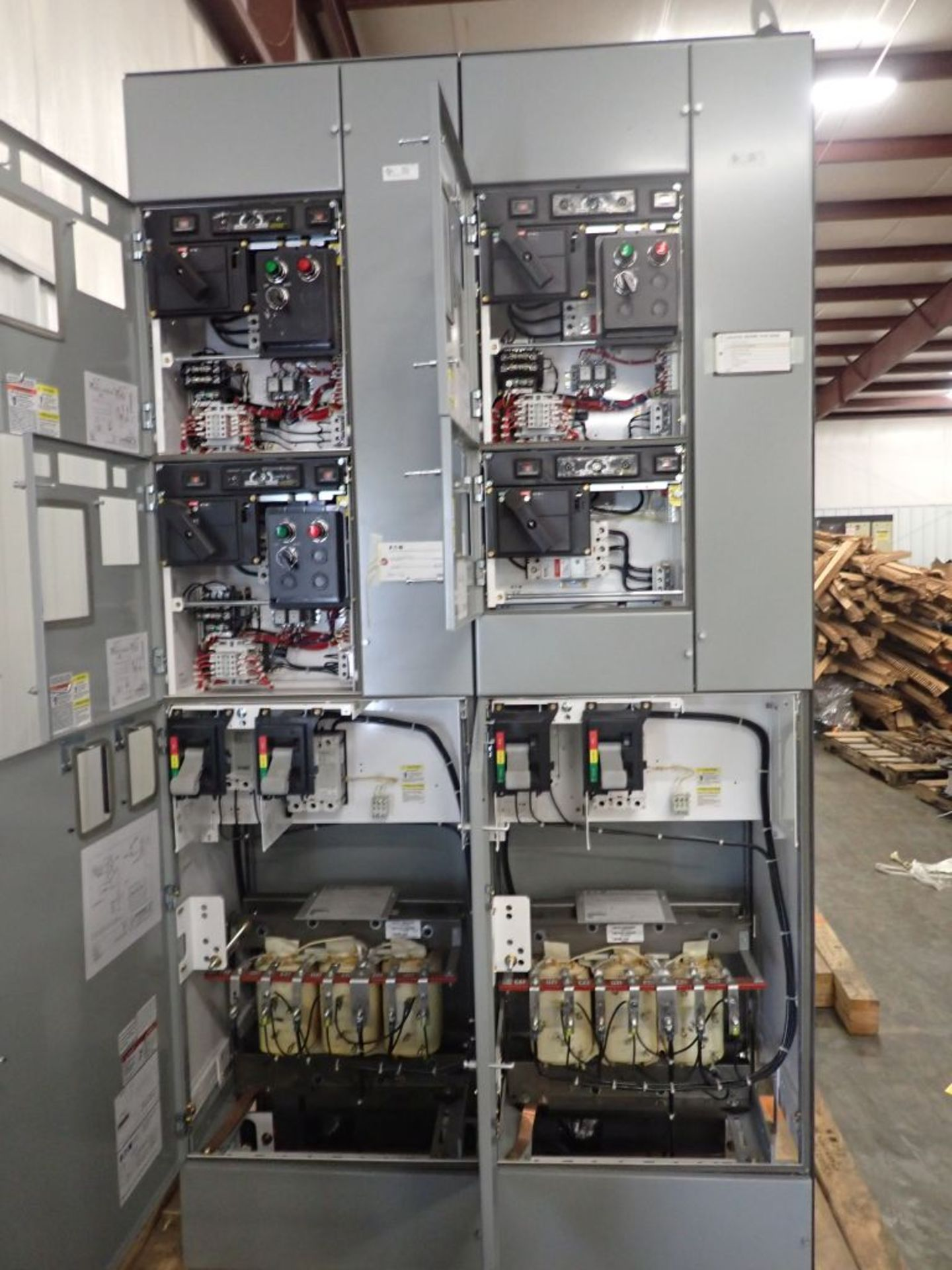 Eaton Freedom 2100 Series Motor Control Center | (2) F208-30A; (1) F208-40A; (1) FDRB-50A; (2) - Image 5 of 37