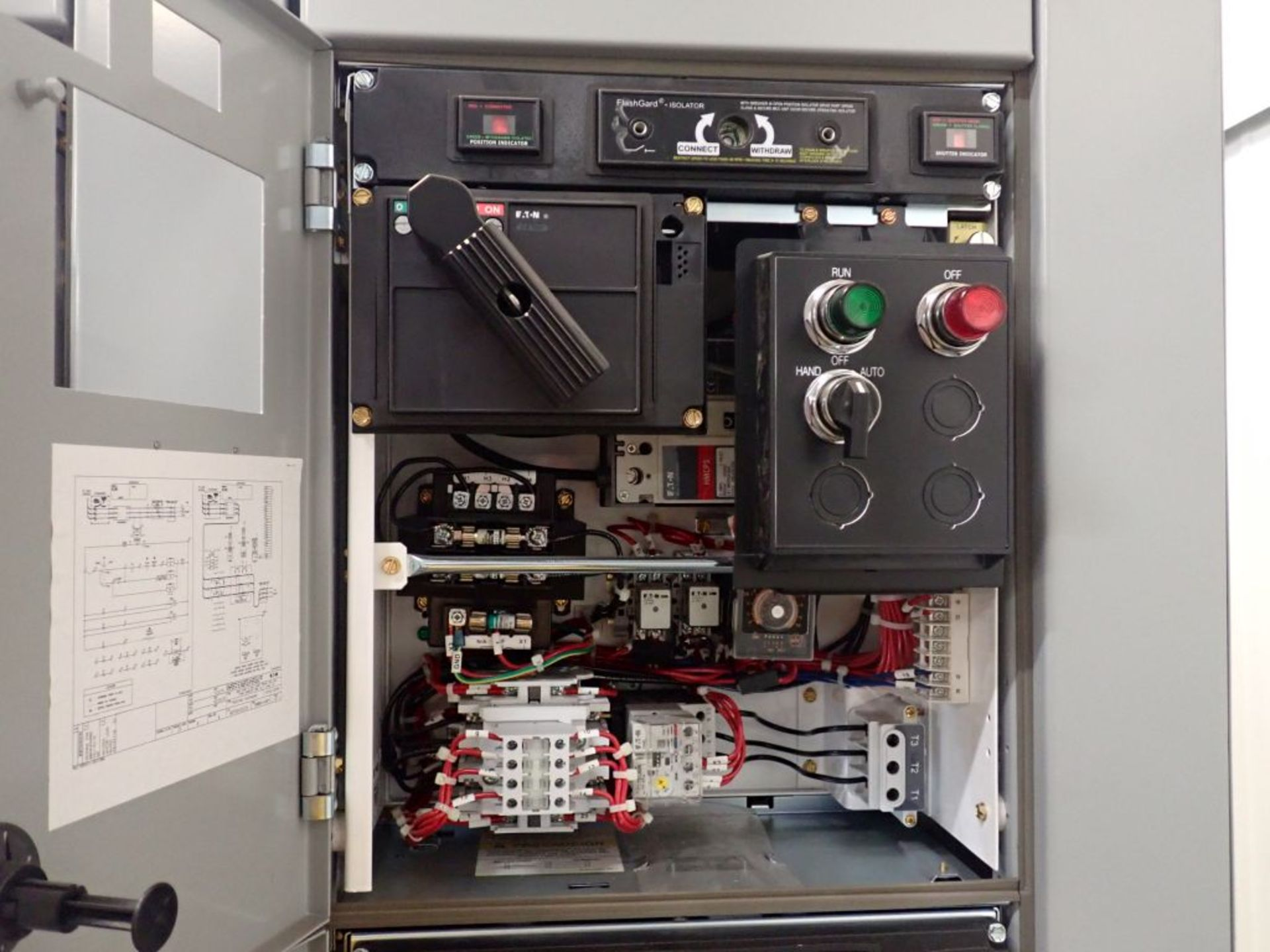 Eaton Freedom Flashgard Motor Control Center w/Components | (5) F206-15A-10HP; (4) F206-30A-10HP; ( - Image 64 of 84