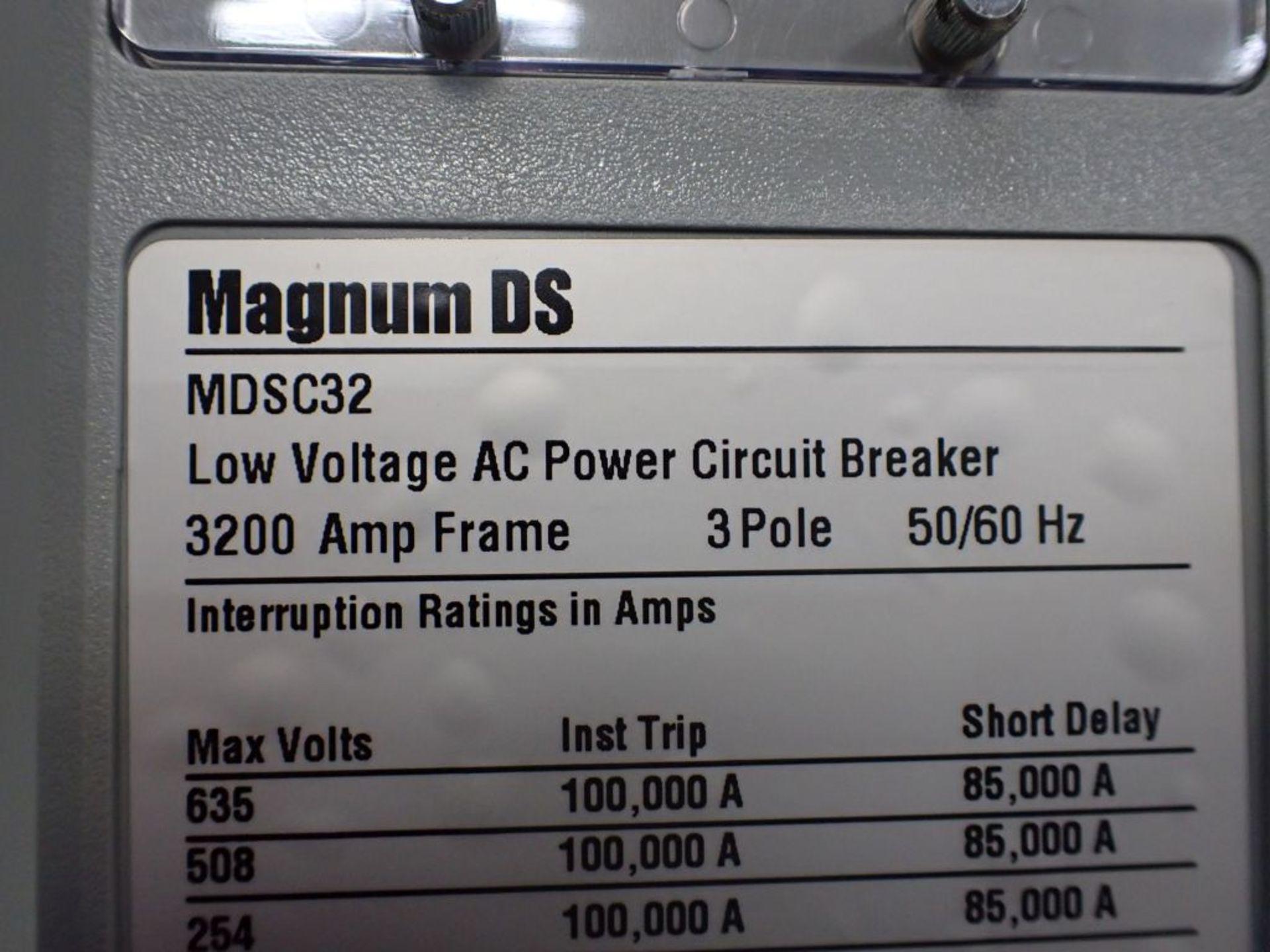 Eaton Transfer Switch | Cat No. ATV9MGB32500XSU; 480V; 3 PH; 2500A; (2) Eaton Magnum DS Circuit - Image 10 of 50