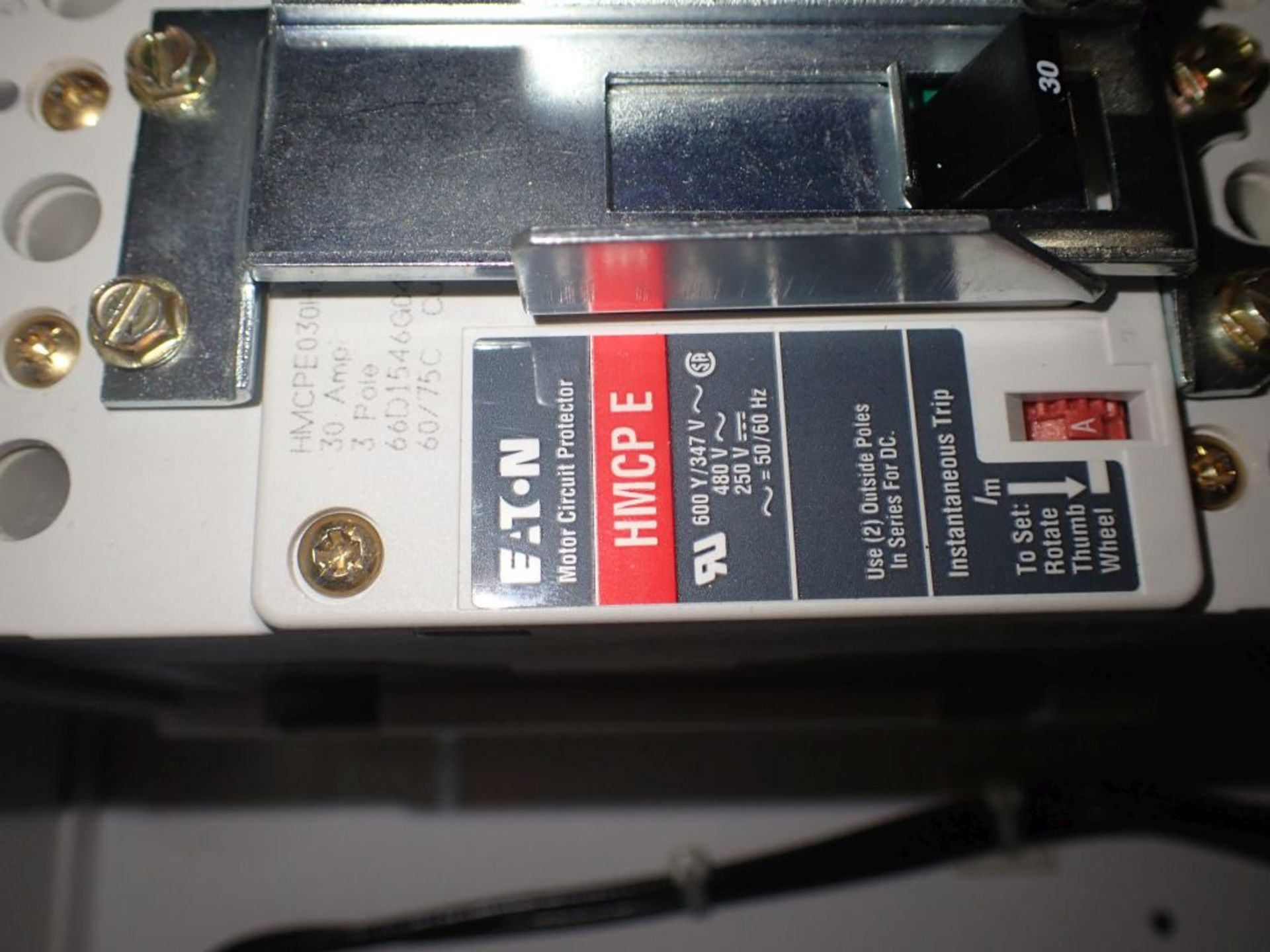 Eaton Freedom 2100 Series Motor Control Center | (2) F206-7A-10HP; (3) F206-15A-10HP; (1) FDRB-100A; - Image 17 of 87