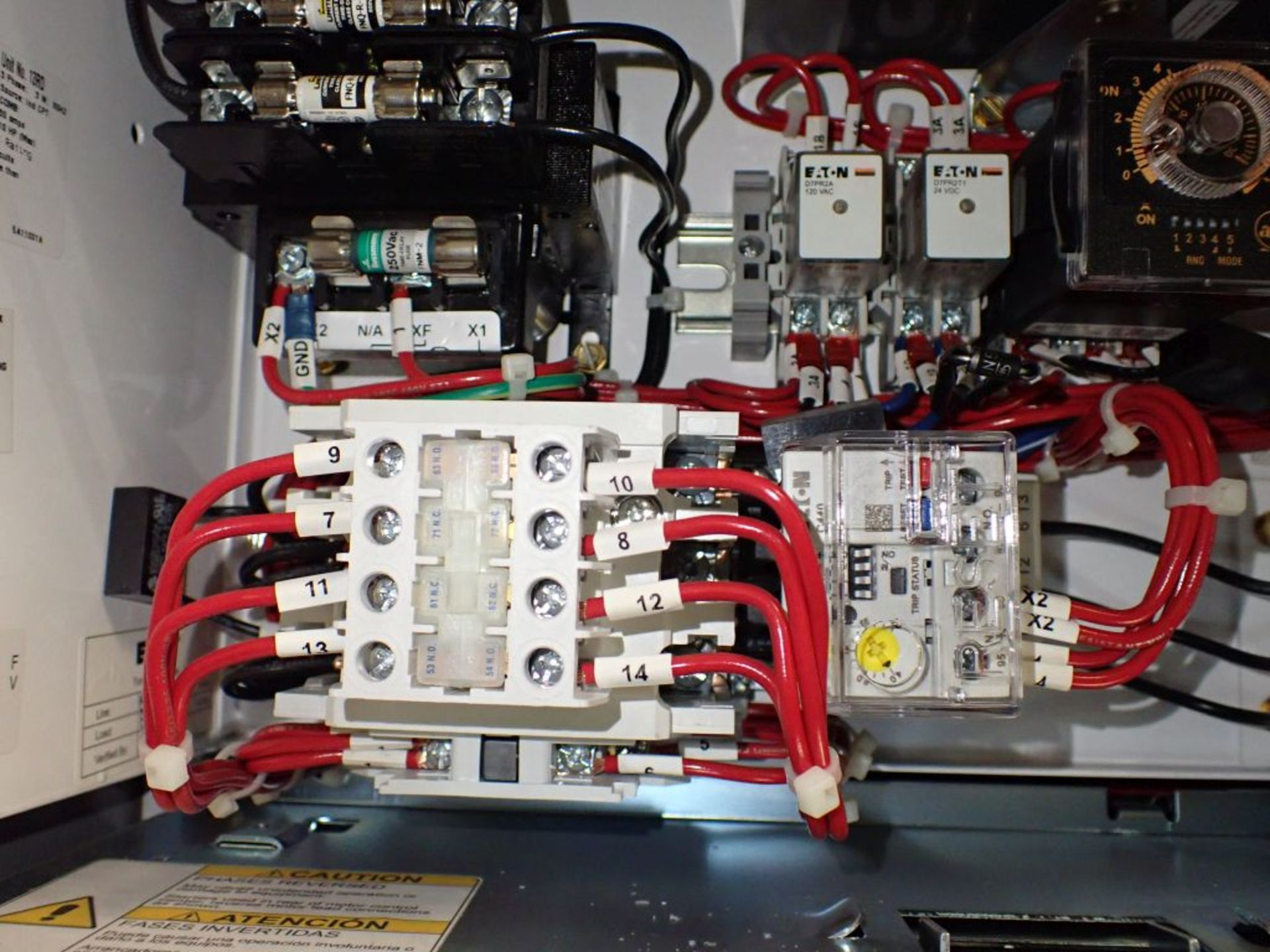 Eaton Freedom 2100 Series Motor Control Center | (11) F206-30A-10HP; (5) F206-15A-10HP; (1) SVX900- - Image 13 of 102
