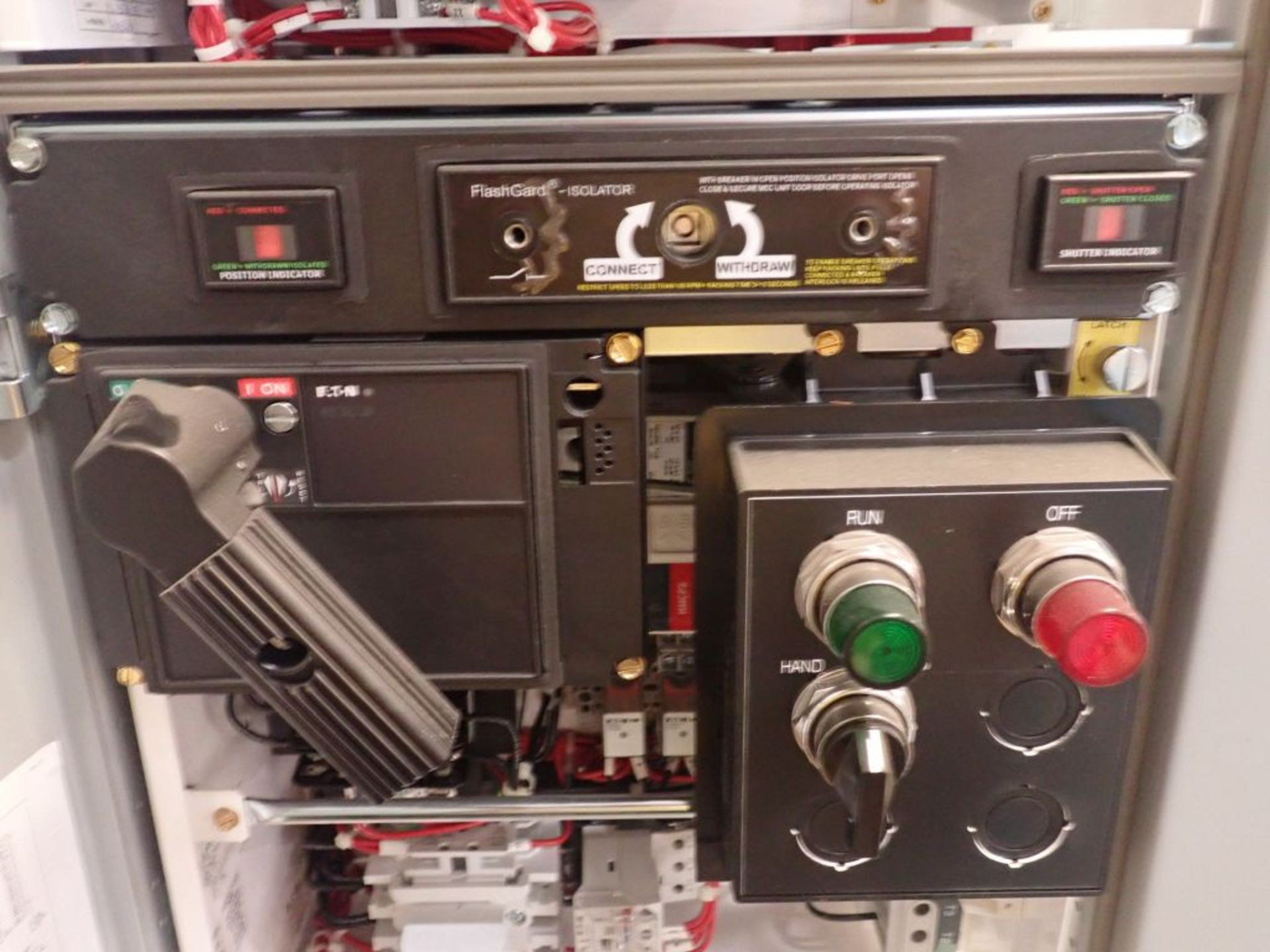 Eaton Freedom Flashgard Motor Control Center w/Components | (5) F206-15A-10HP; (4) F206-30A-10HP; ( - Image 44 of 84
