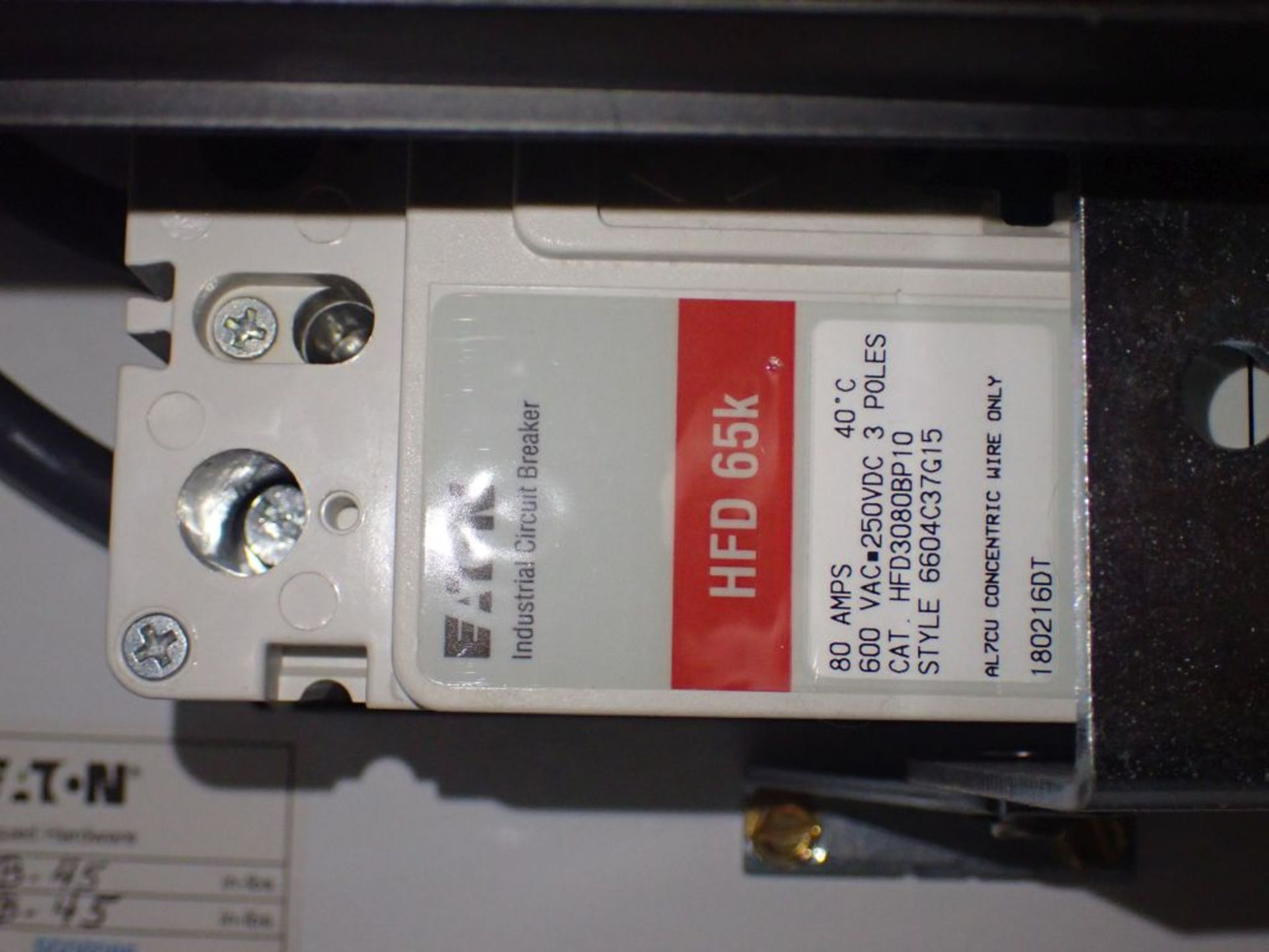 Eaton Freedom Flashgard Motor Control Center w/Components | (5) F206-15A-10HP; (4) F206-30A-10HP; ( - Image 84 of 84