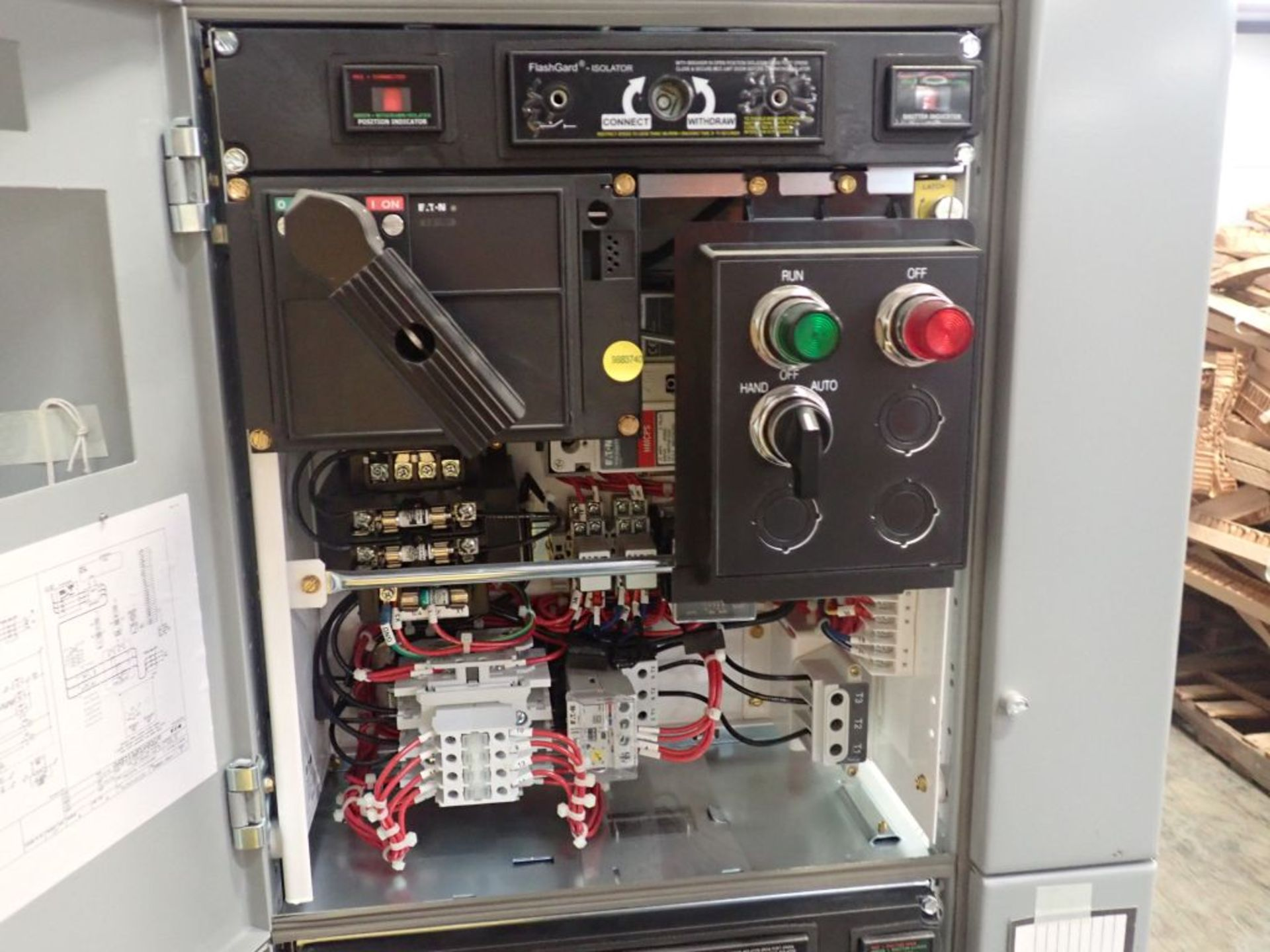 Eaton Freedom Flashgard Motor Control Center w/Components | (5) F206-15A-10HP; (4) F206-30A-10HP; ( - Image 27 of 84