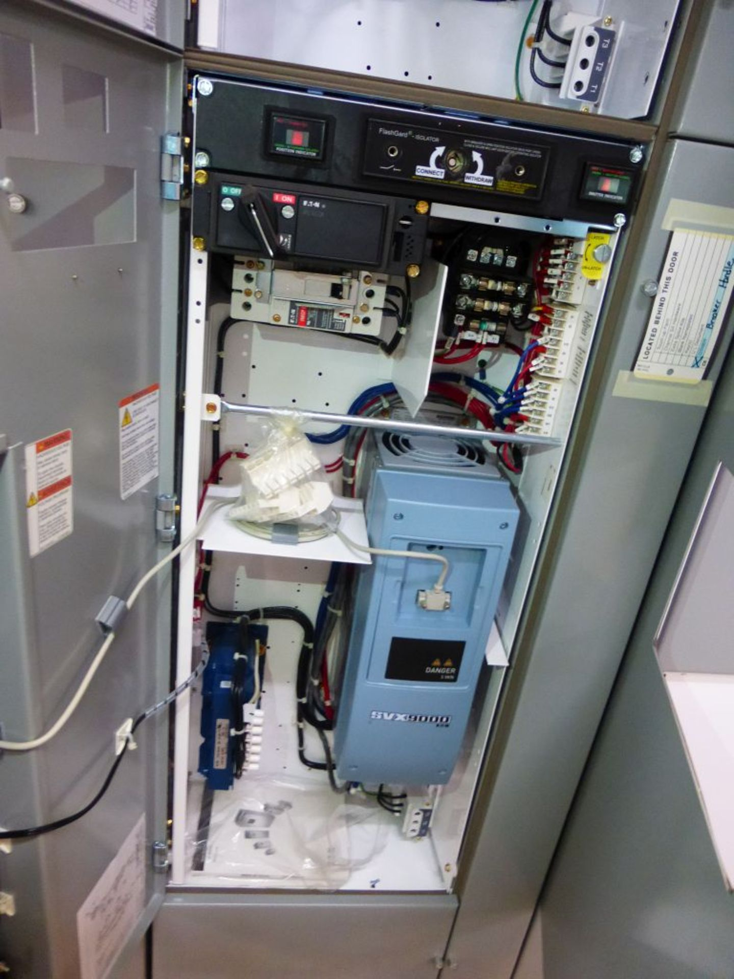 Eaton Freedom 2100 Series Motor Control Center   (4) SVX900-30A, with Eaton AF Drives, SVX9000, - Image 59 of 60