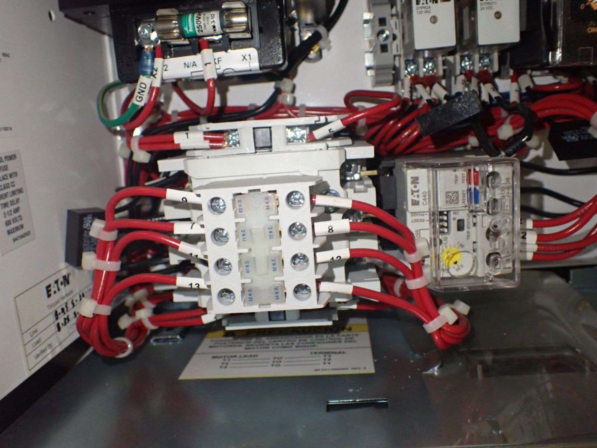 Eaton Freedom Flashgard Motor Control Center w/Components | (5) F206-15A-10HP; (4) F206-30A-10HP; ( - Image 71 of 84