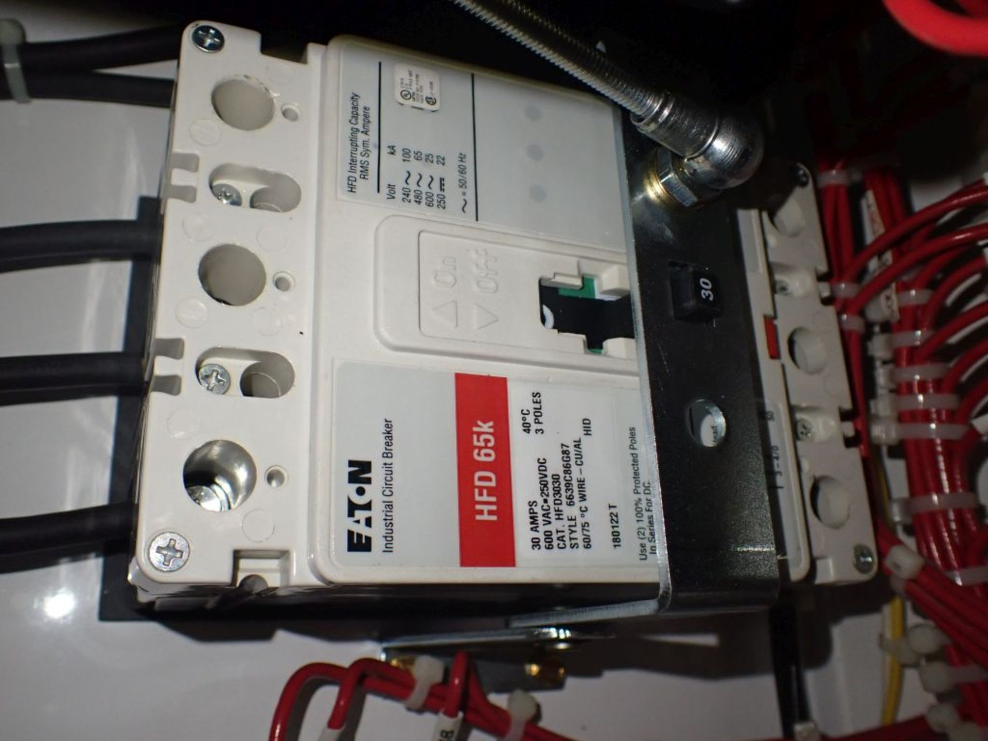 Eaton Freedom 2100 Series Motor Control Center | (2) F208-30A; (1) F208-40A; (1) FDRB-50A; (2) - Image 28 of 37