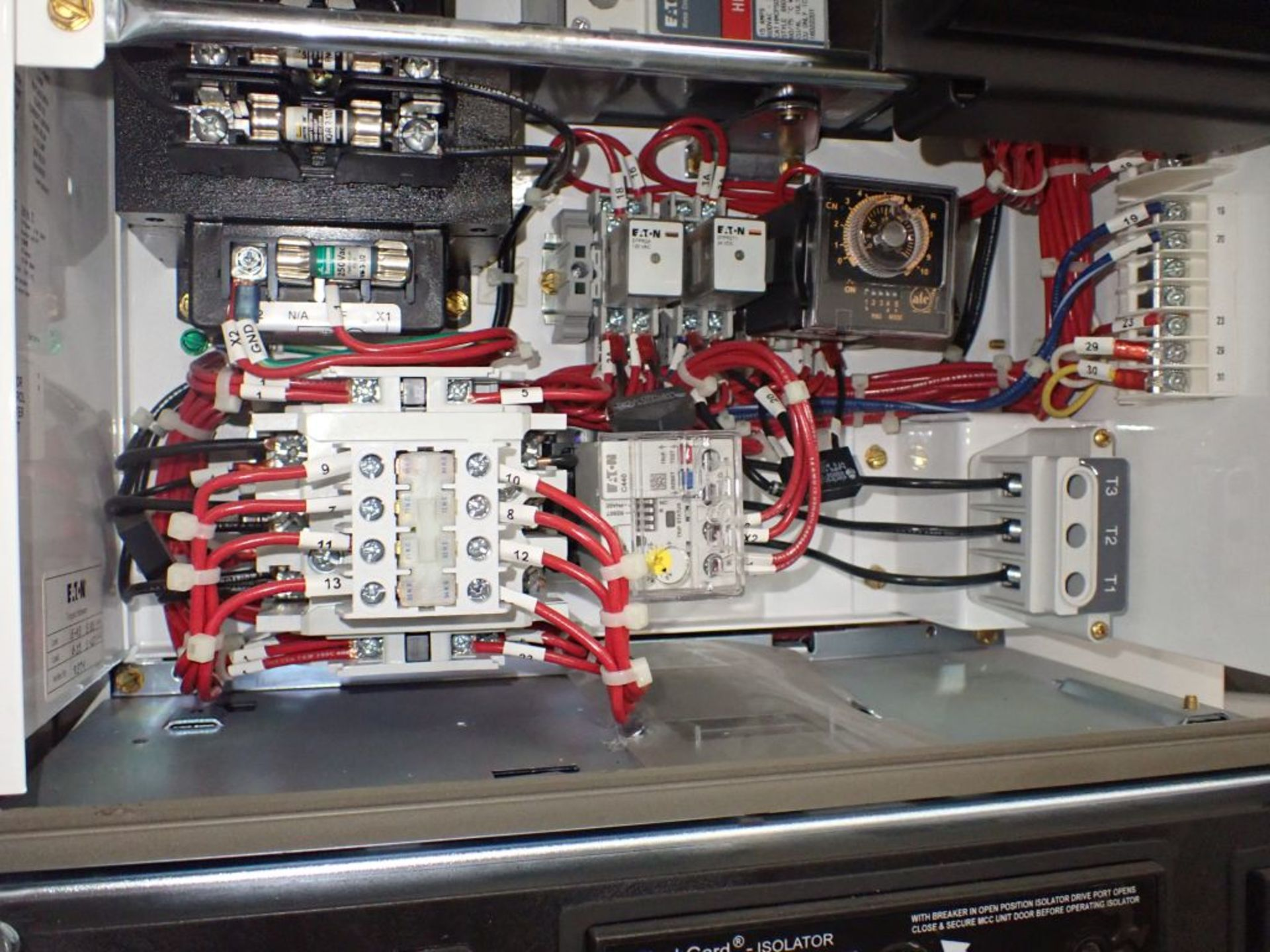 Eaton Freedom 2100 Series Motor Control Center   (2) F206-15A-10HP; (2) SVX900-50A, with Eaton AF - Image 32 of 48