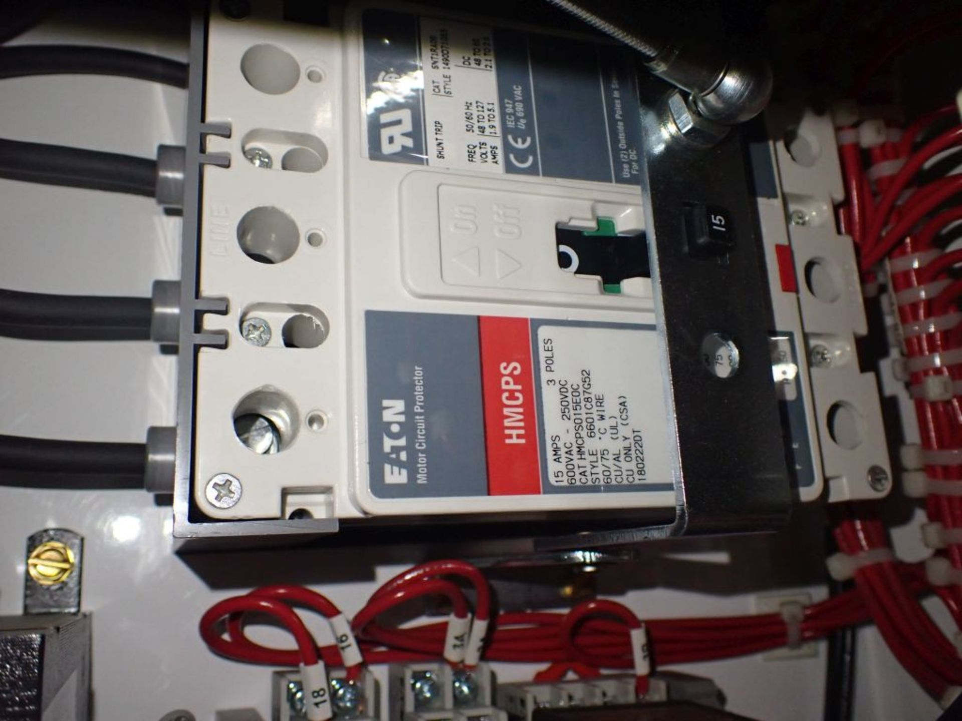 Eaton Freedom 2100 Series Motor Control Center   (2) F206-15A-10HP; (2) SVX900-50A, with Eaton AF - Image 34 of 48