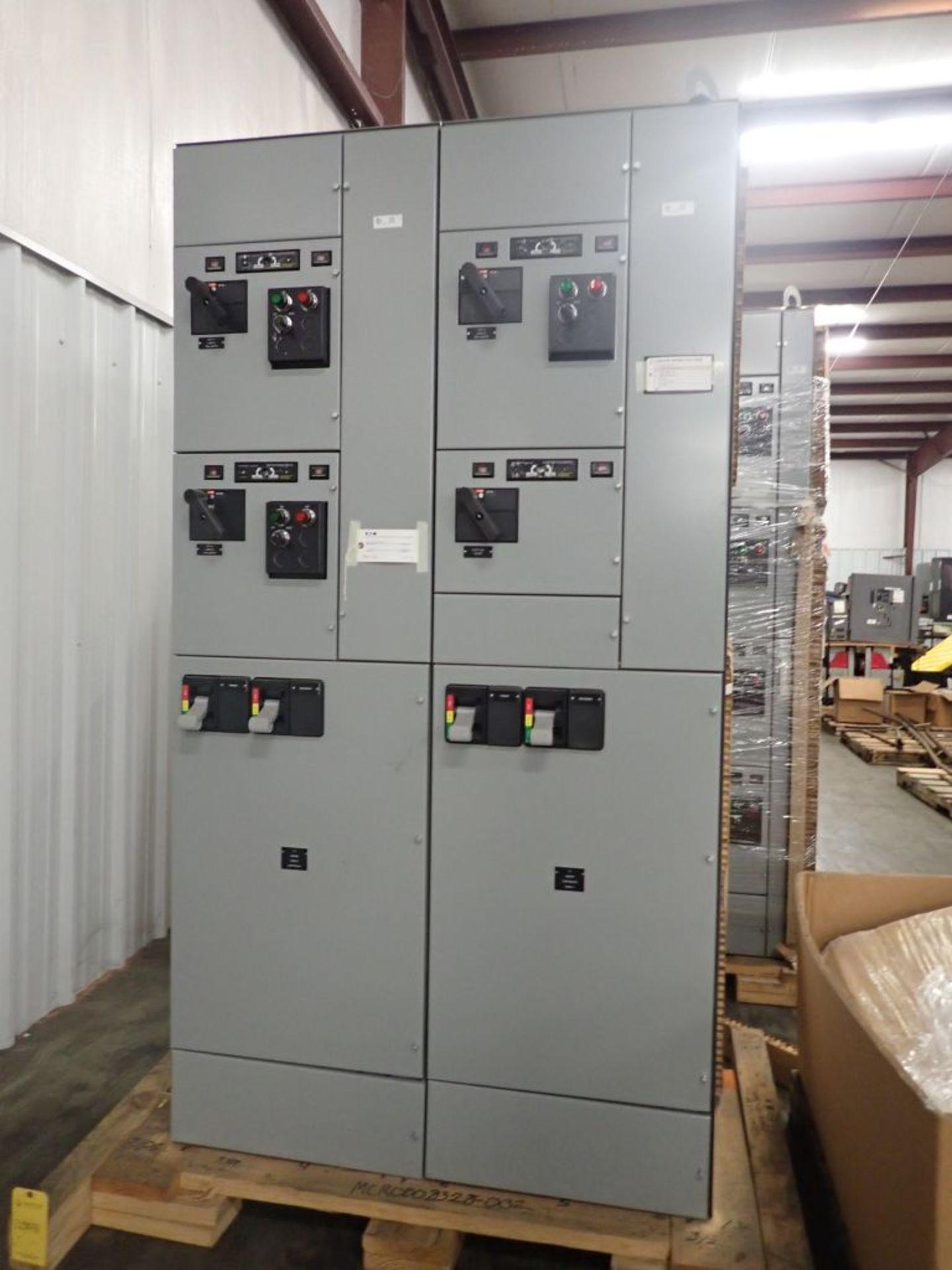 Eaton Freedom 2100 Series Motor Control Center | (2) F208-30A; (1) F208-40A; (1) FDRB-50A; (2)