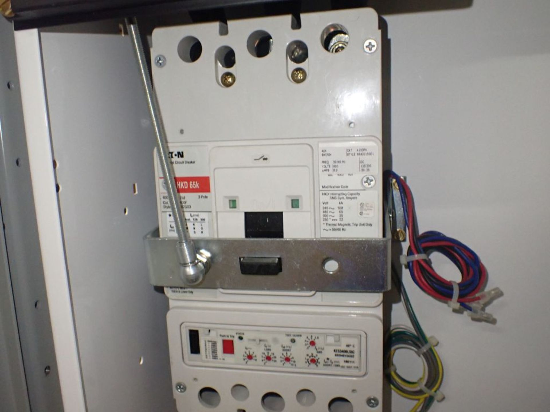 Eaton Freedom 2100 Series Motor Control Center | (2) F206-15A-10HP; (1) FDRB-250A; (1) FDRB-400A; ( - Image 56 of 104