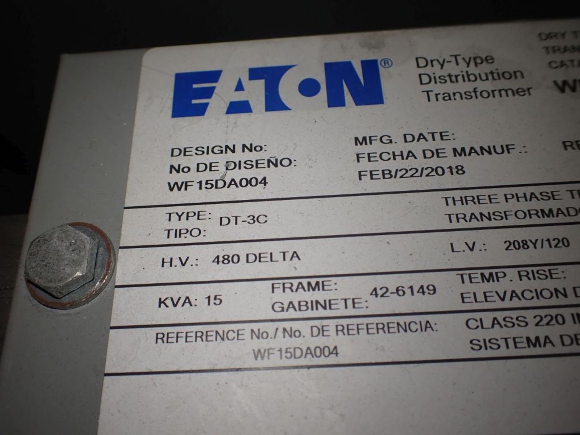 Eaton Freedom 2100 Series Motor Control Center | (2) F208-30A; (1) F208-40A; (1) FDRB-50A; (2) - Image 35 of 37