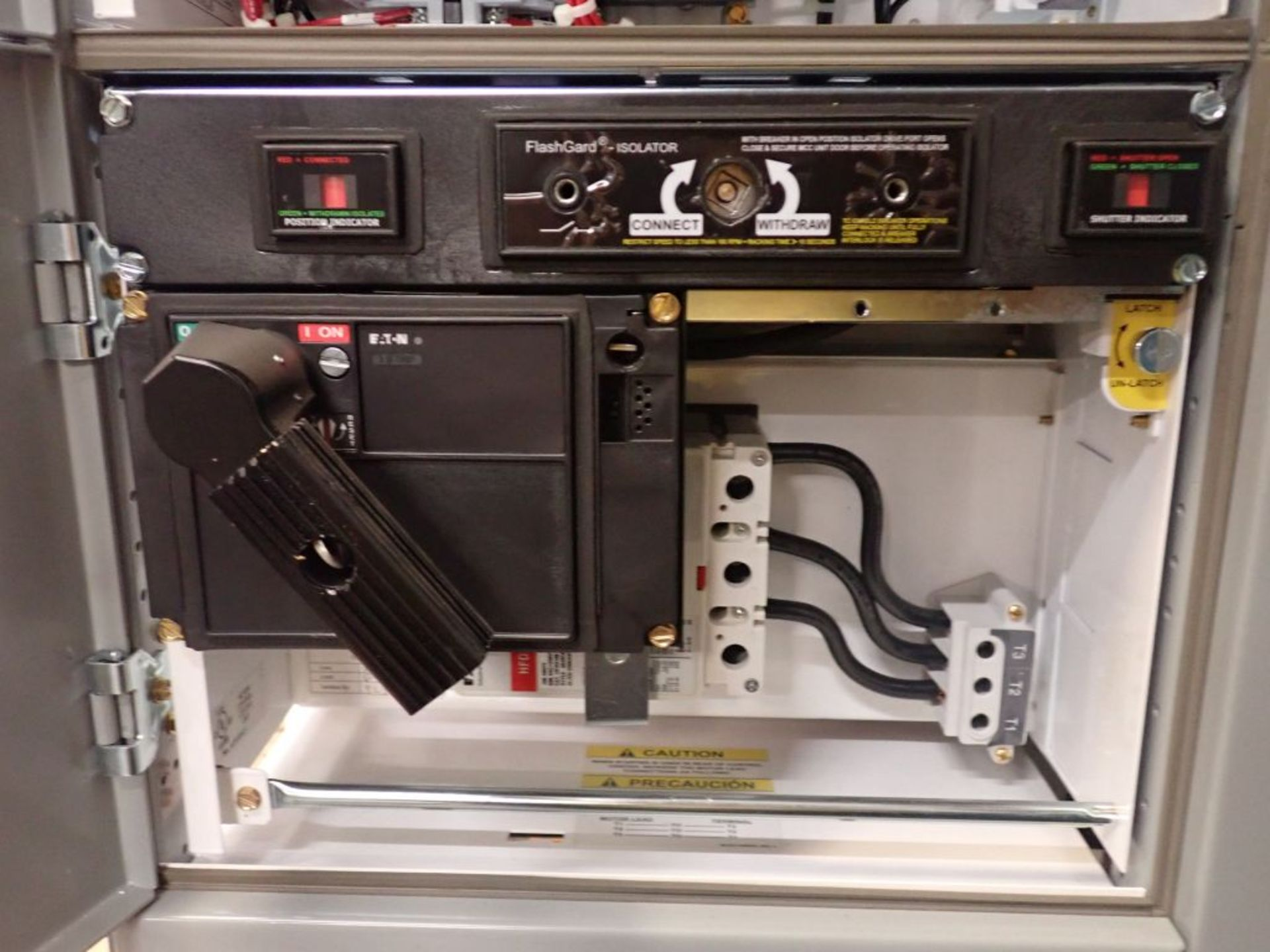 Eaton Freedom 2100 Series Motor Control Center | (2) F206-7A-10HP; (3) F206-15A-10HP; (1) FDRB-100A; - Image 62 of 87