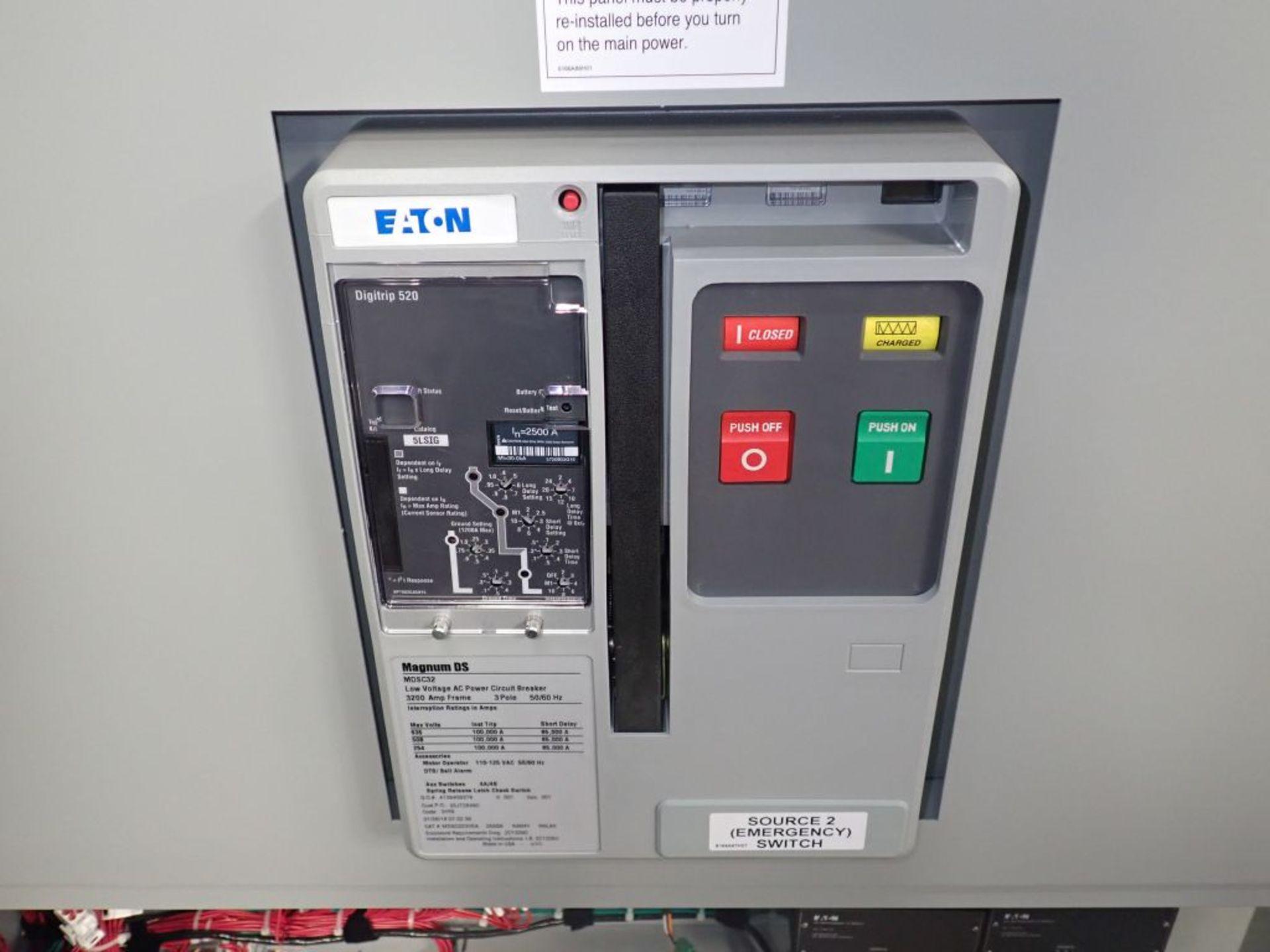 Eaton Transfer Switch | Cat No. ATV9MGB32500XSU; 480V; 3 PH; 2500A; (2) Eaton Magnum DS Circuit - Image 14 of 50